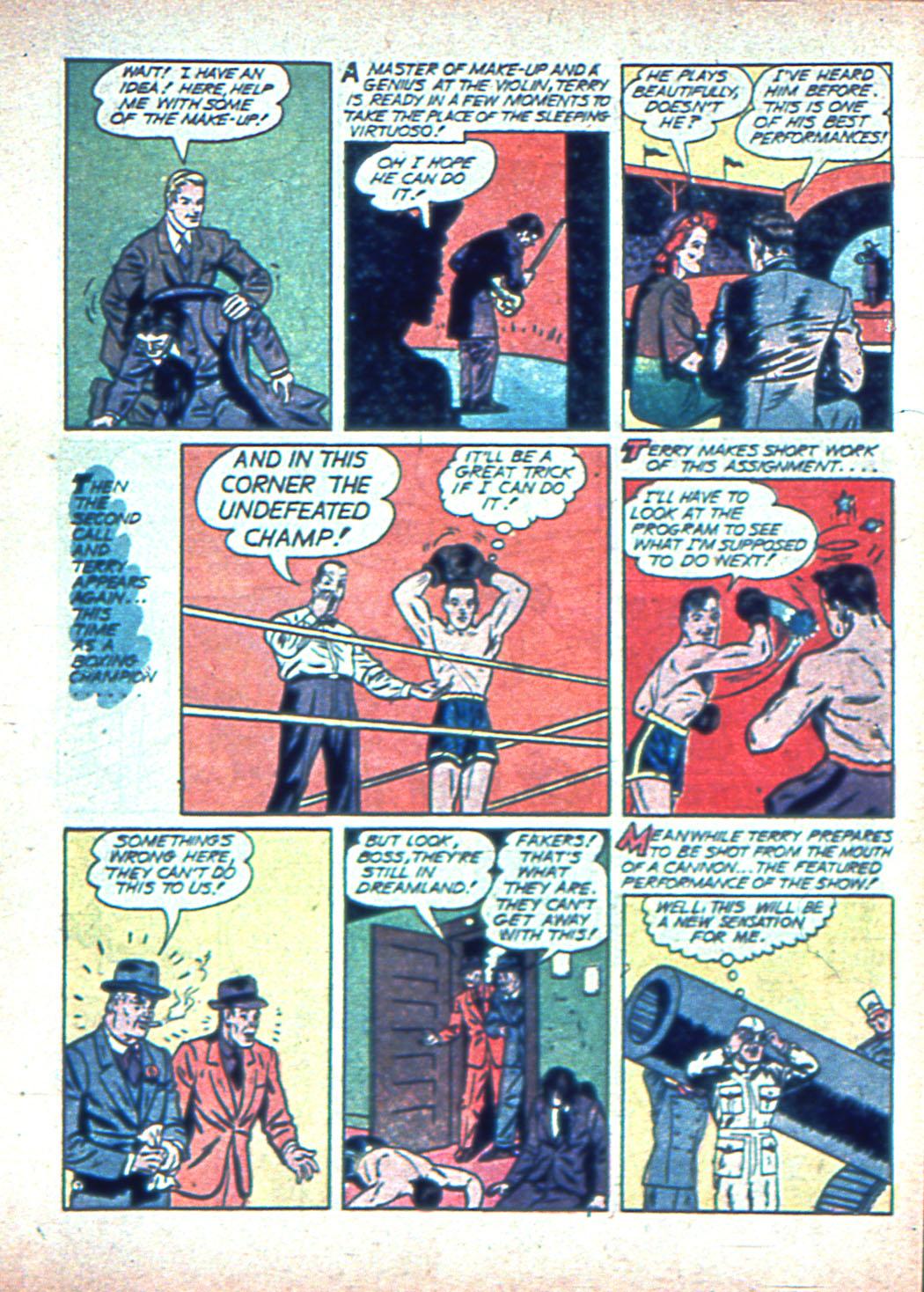Read online Sensation (Mystery) Comics comic -  Issue #2 - 31