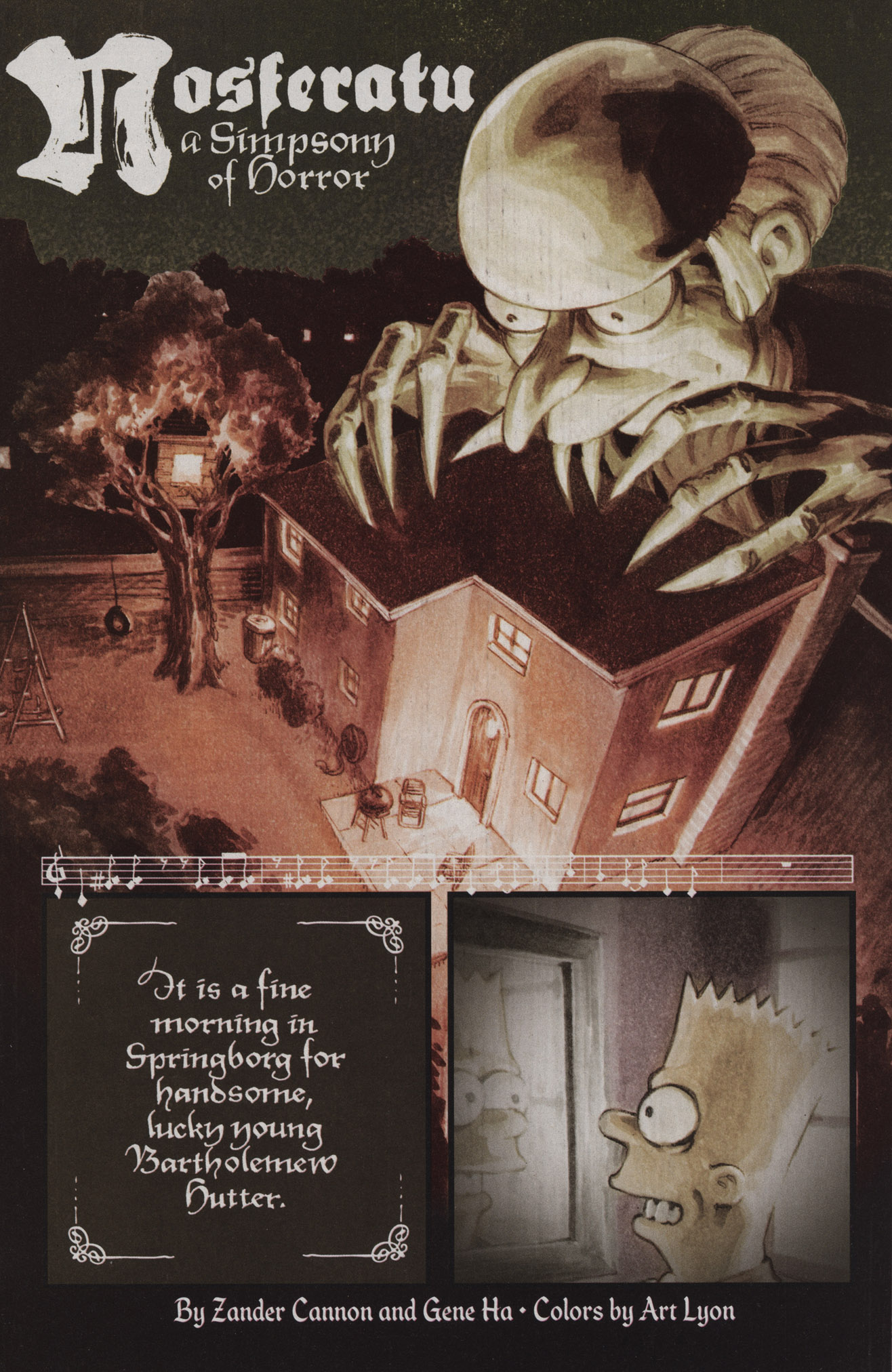 Read online Treehouse of Horror comic -  Issue #17 - 4