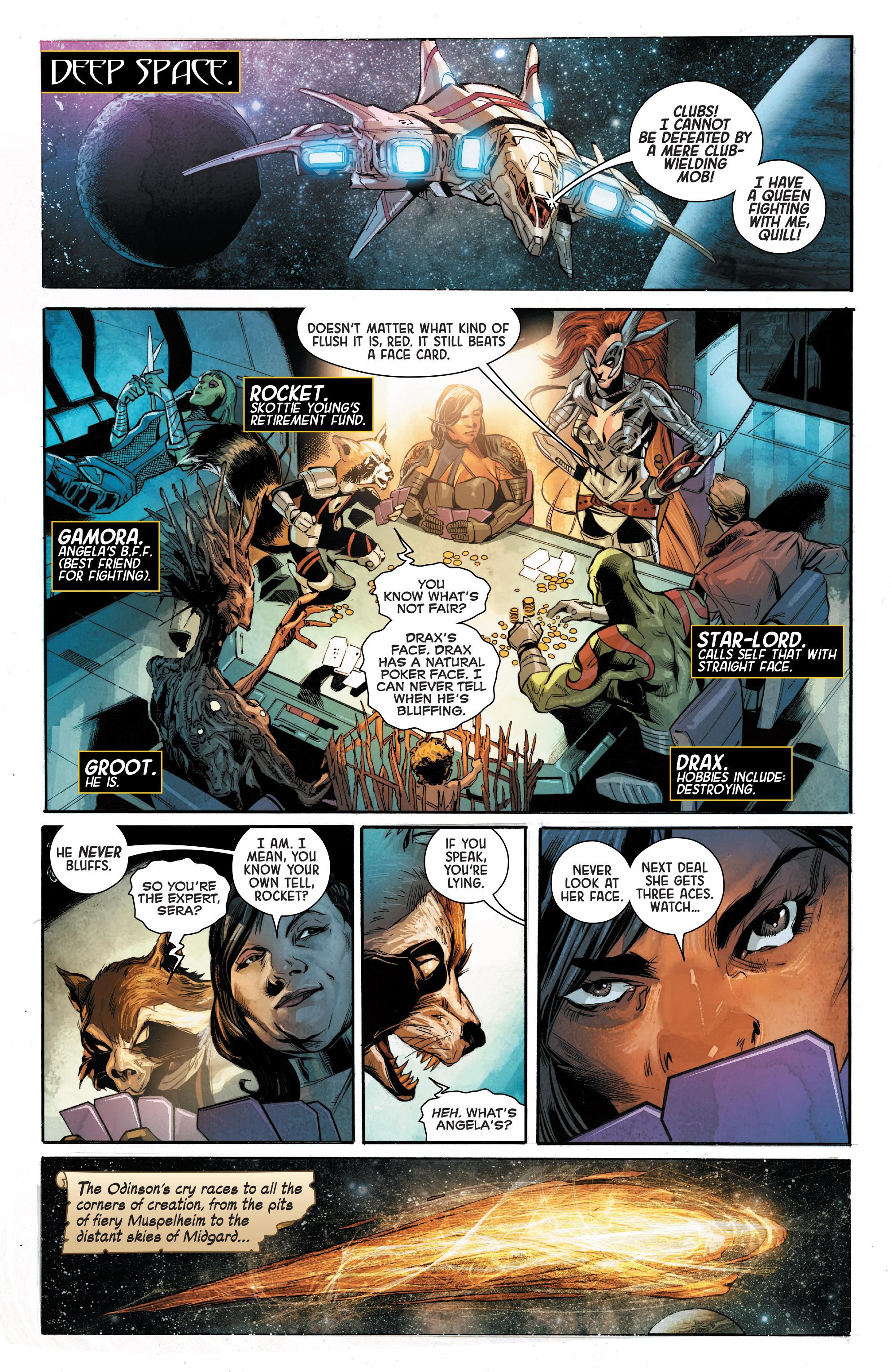Read online Angela: Asgard's Assassin comic -  Issue #4 - 4