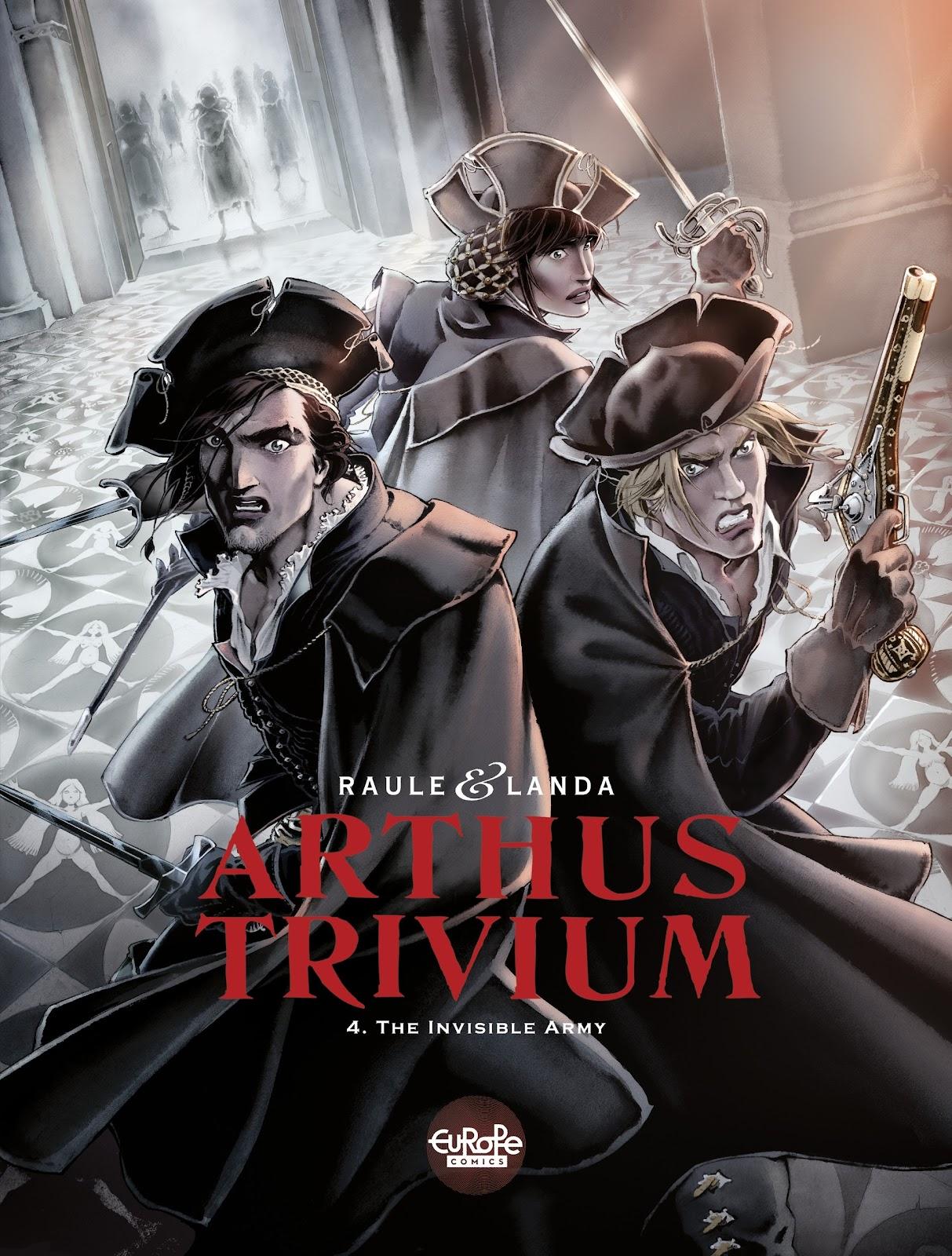 Read online Arthus Trivium comic -  Issue #4 - 1