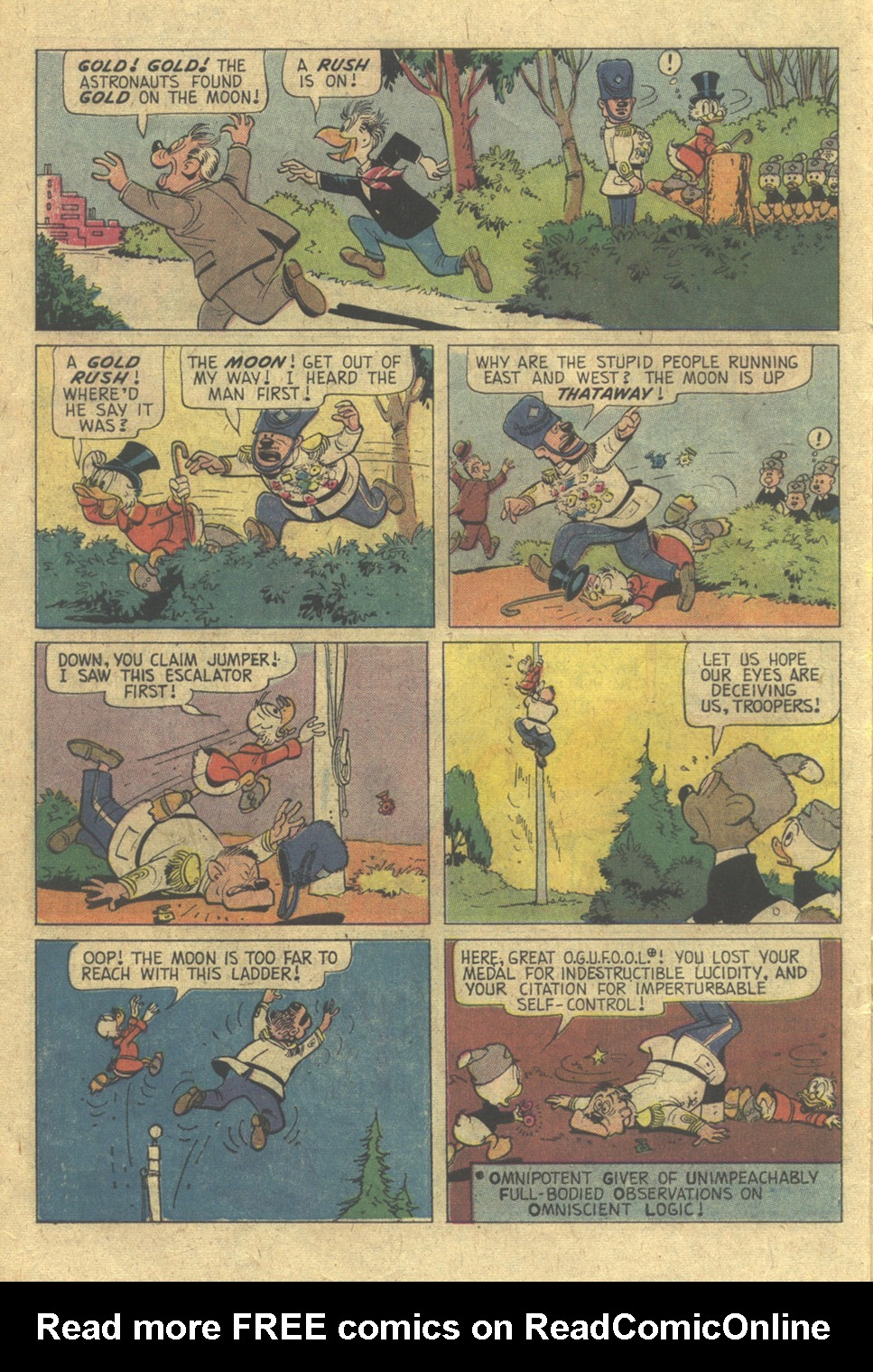 Read online Uncle Scrooge (1953) comic -  Issue #117 - 6
