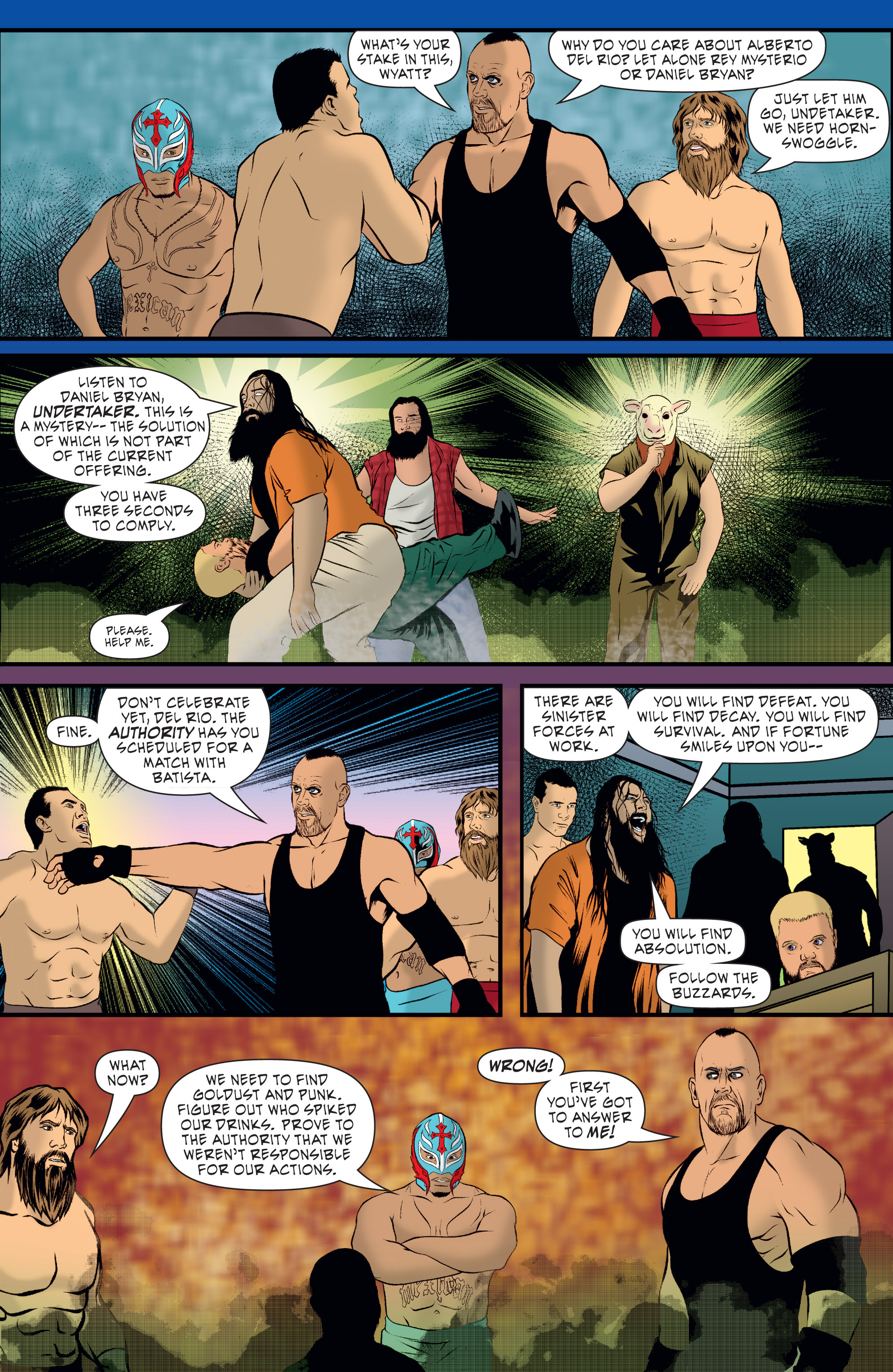 Read online WWE Superstars comic -  Issue #7 - 6
