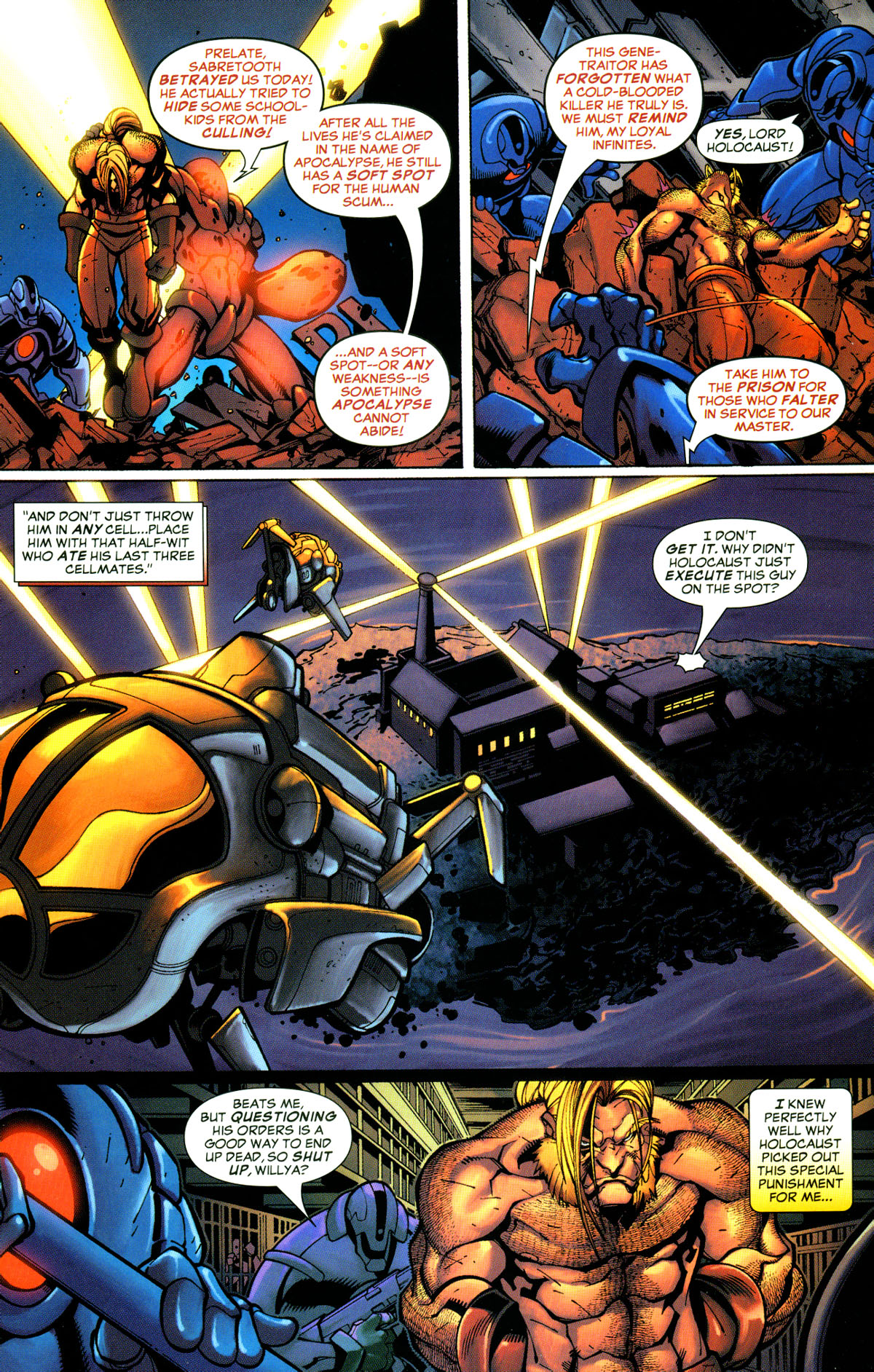 Read online X-Men: Age of Apocalypse One-Shot comic -  Issue # Full - 11