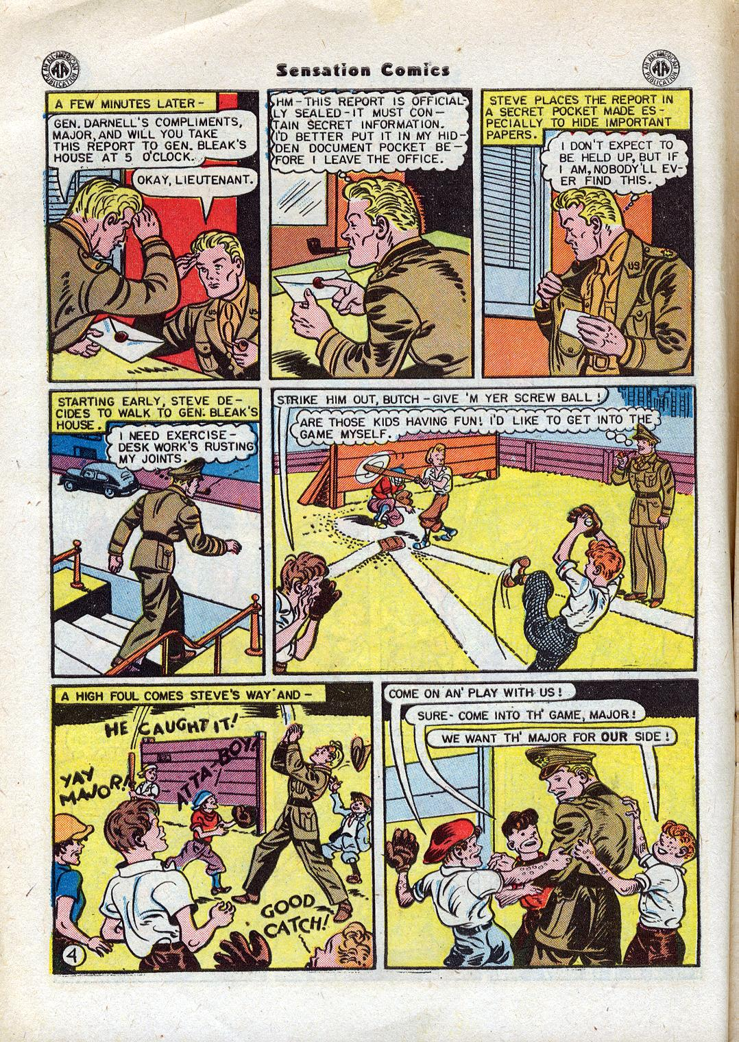 Read online Sensation (Mystery) Comics comic -  Issue #44 - 6
