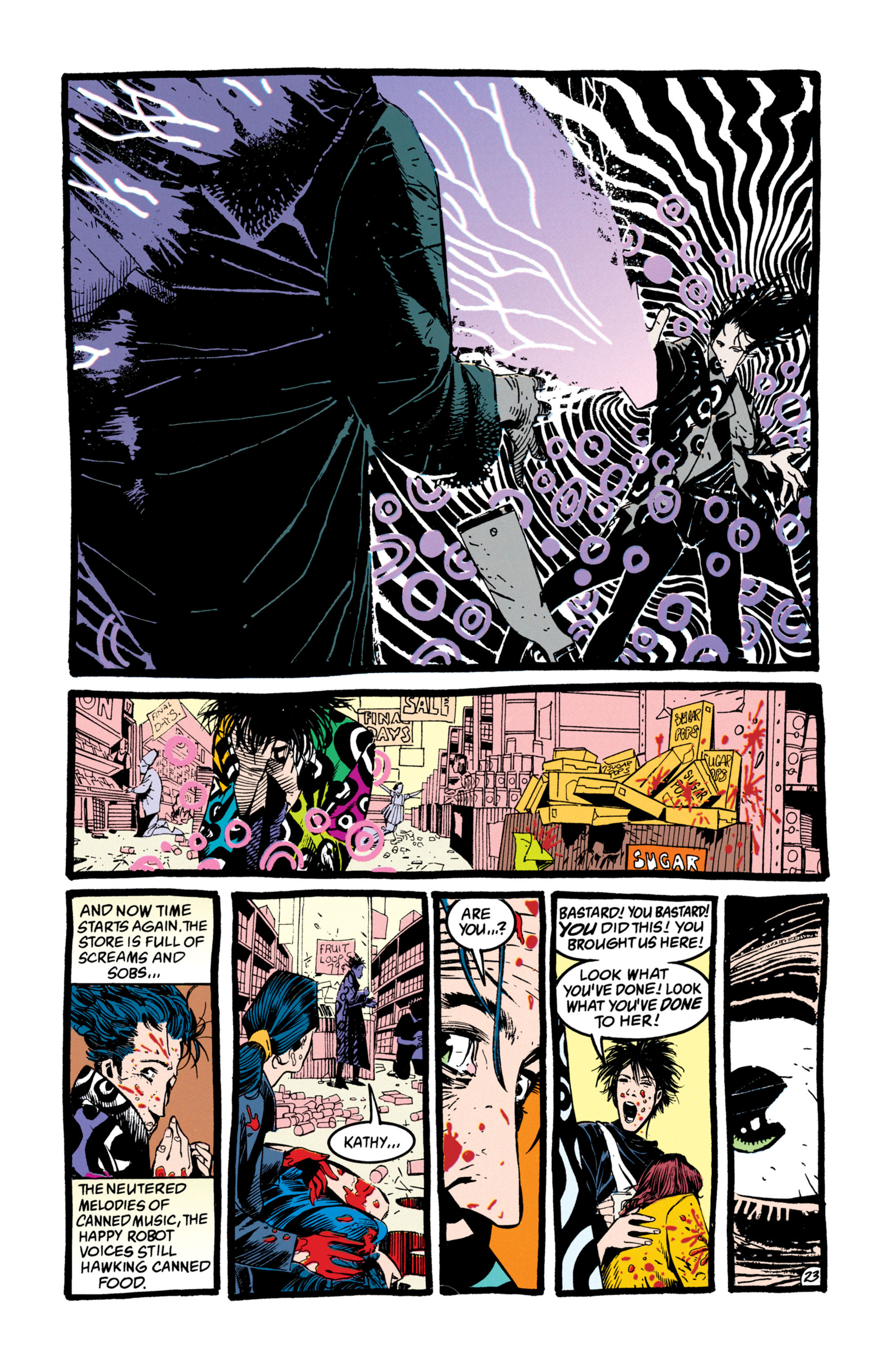 Read online Shade, the Changing Man comic -  Issue #50 - 24