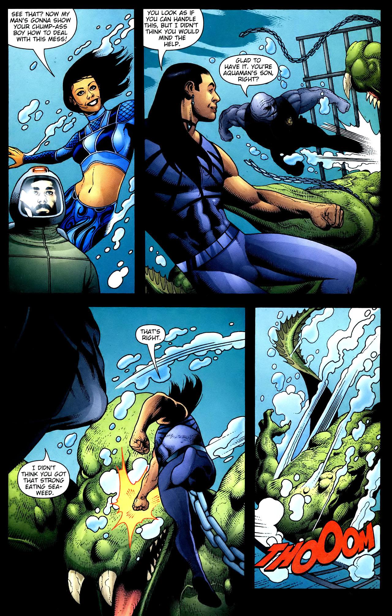 Read online Aquaman (2003) comic -  Issue #34 - 17