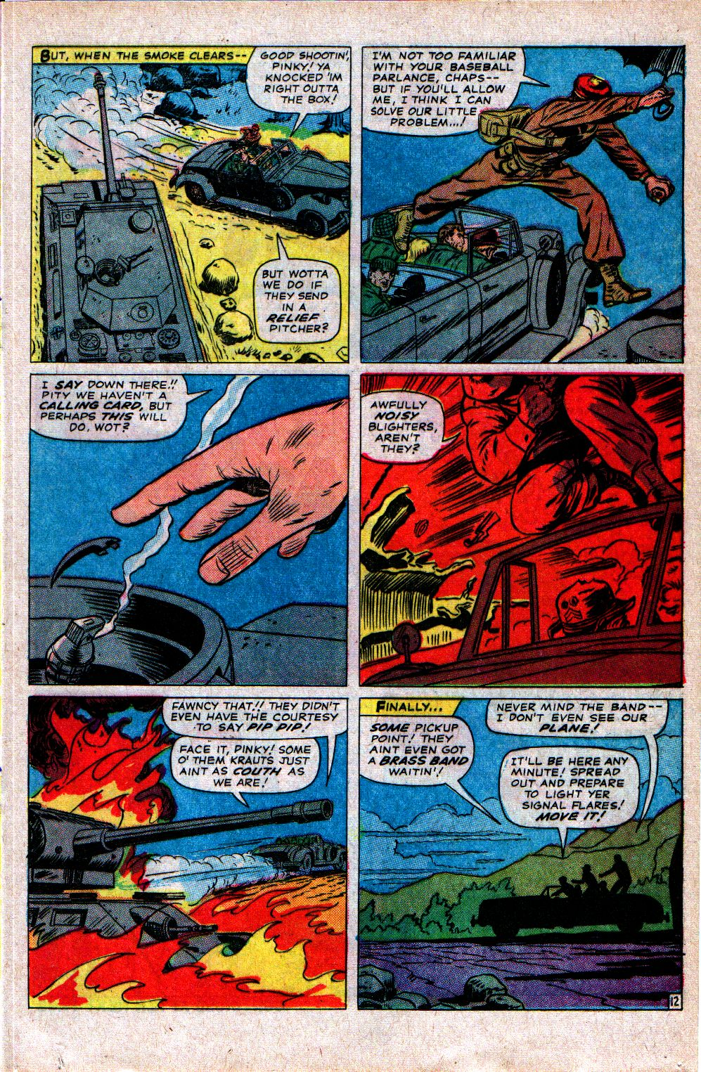 Read online Sgt. Fury comic -  Issue #21 - 17