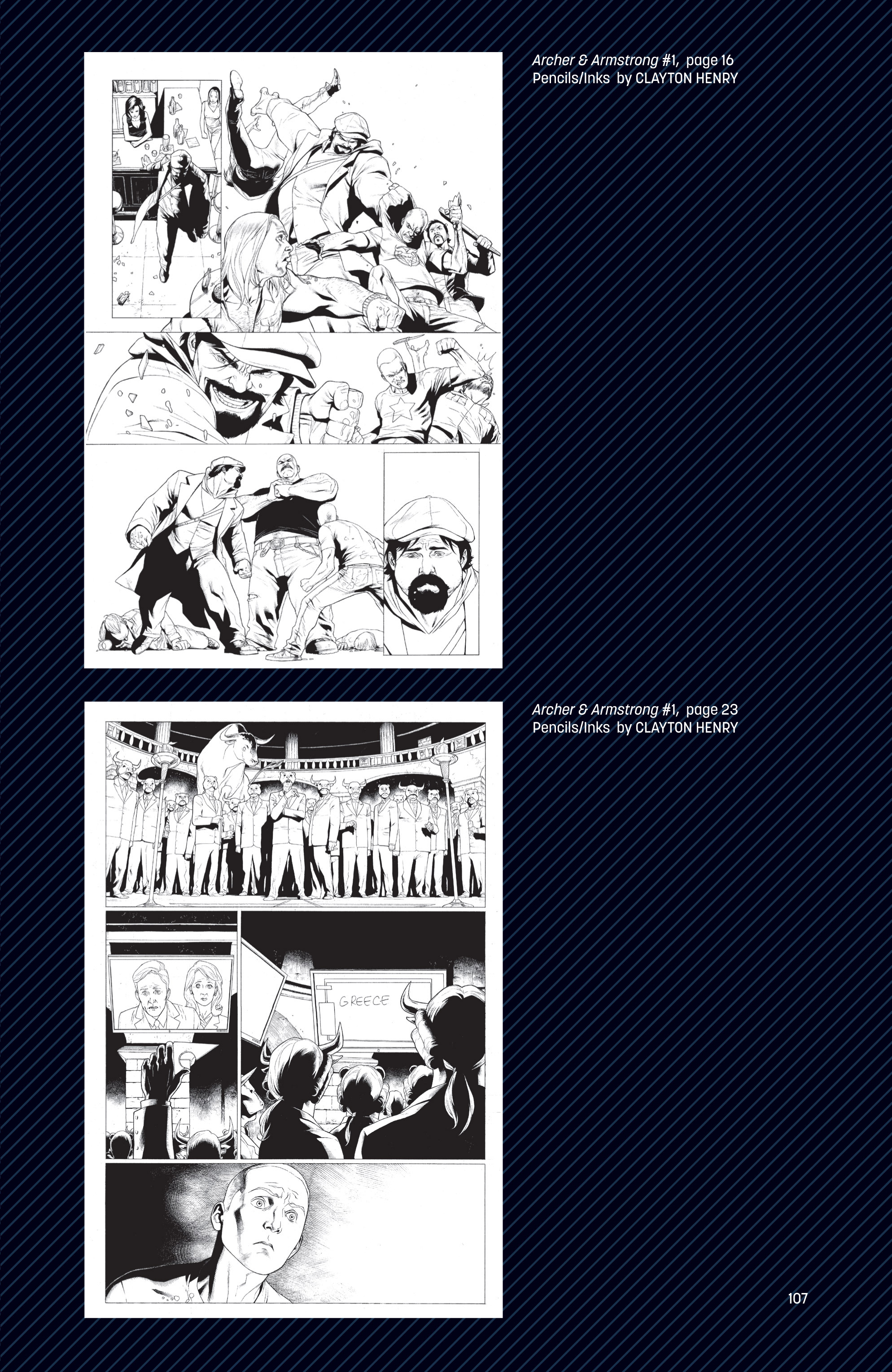 Read online Archer and Armstrong comic -  Issue #Archer and Armstrong _TPB 1 - 108