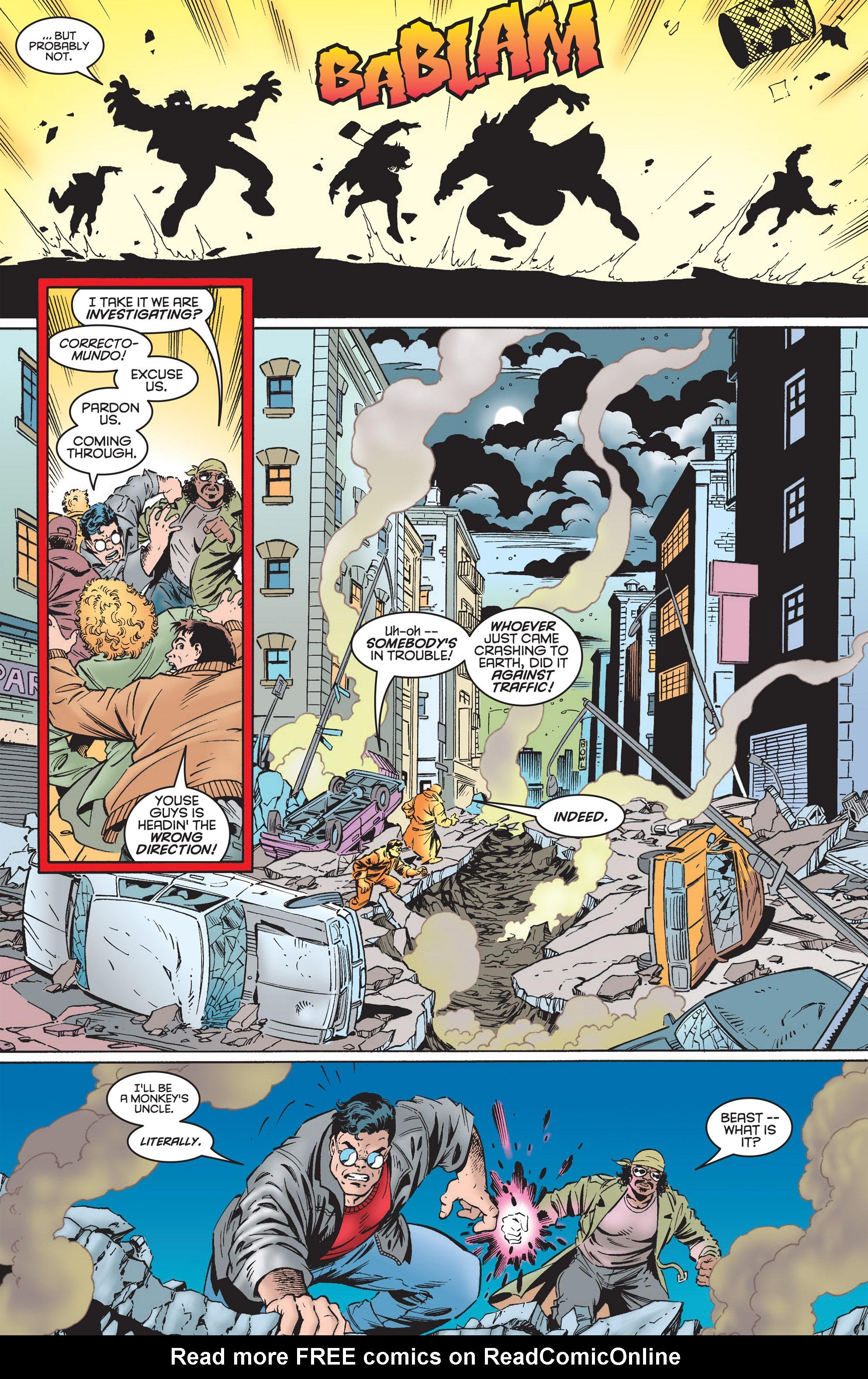 Read online Uncanny X-Men (1963) comic -  Issue #322 - 9