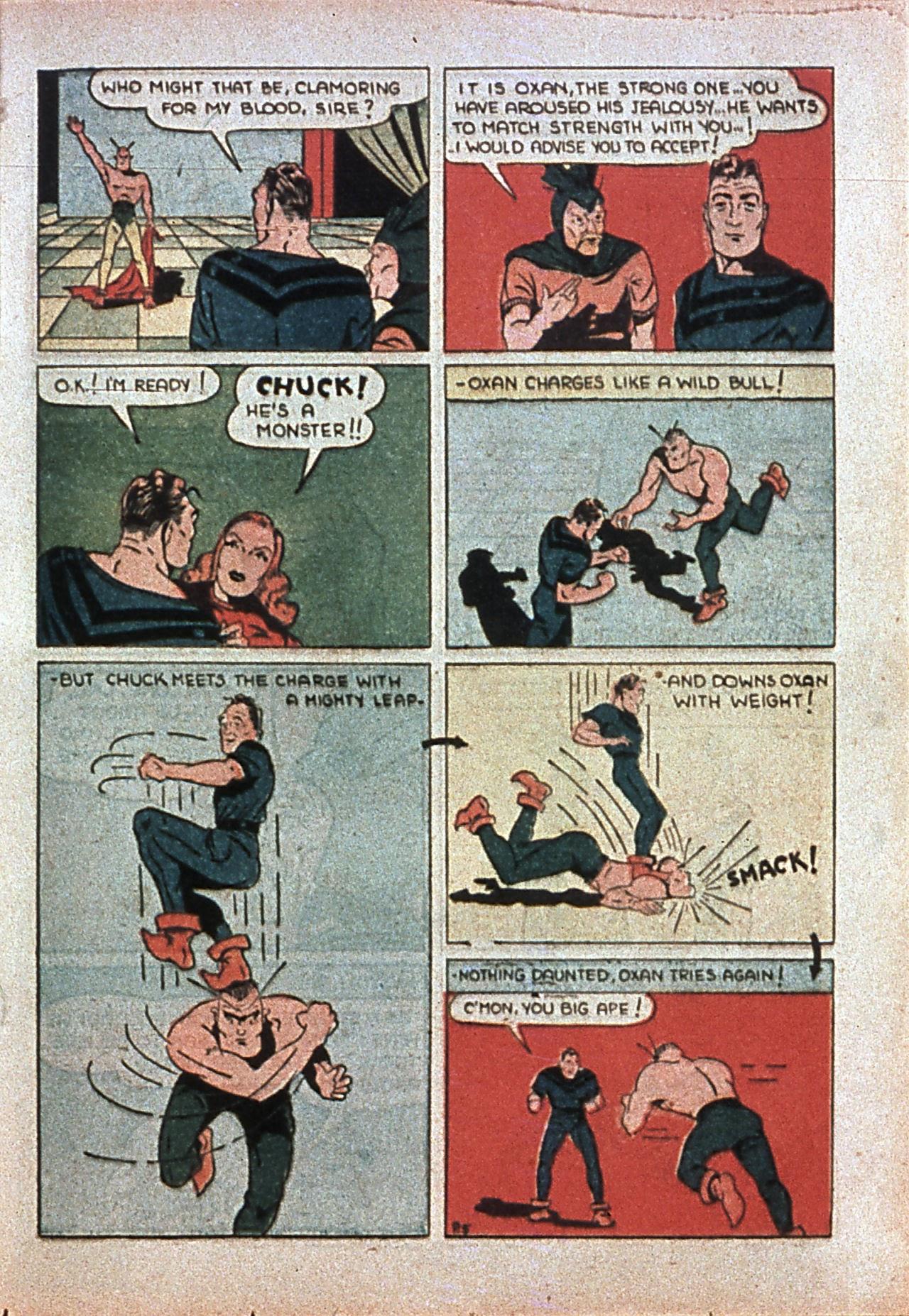 Read online Amazing Man Comics comic -  Issue #7 - 50