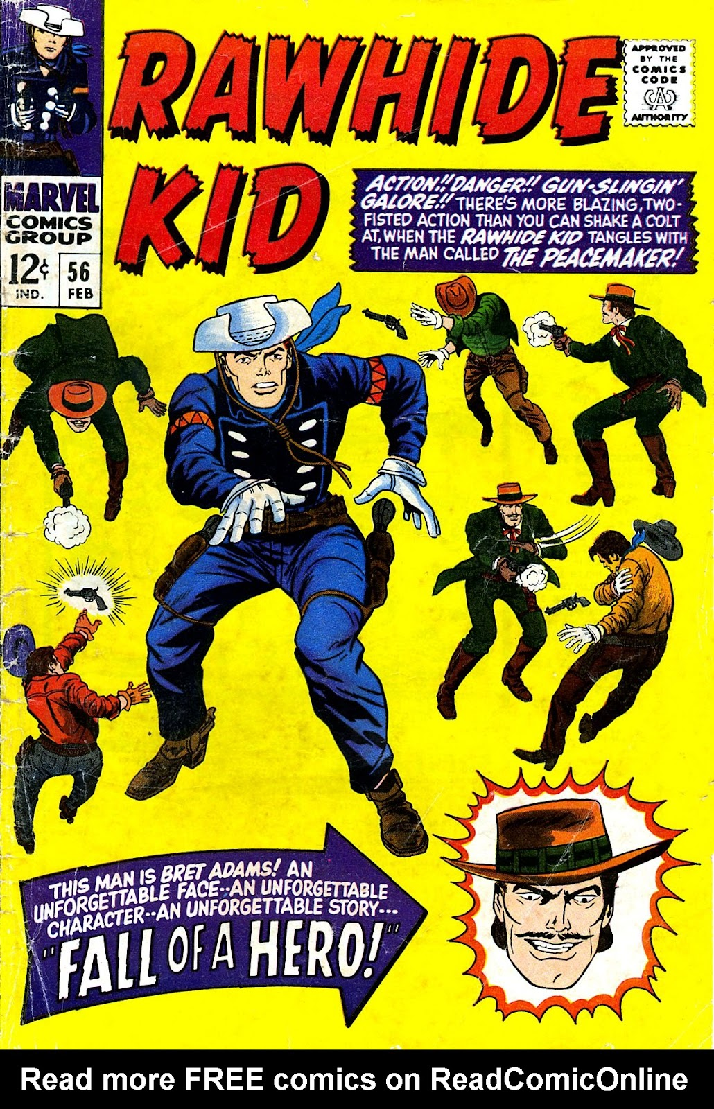 The Rawhide Kid (1955) issue 56 - Page 1