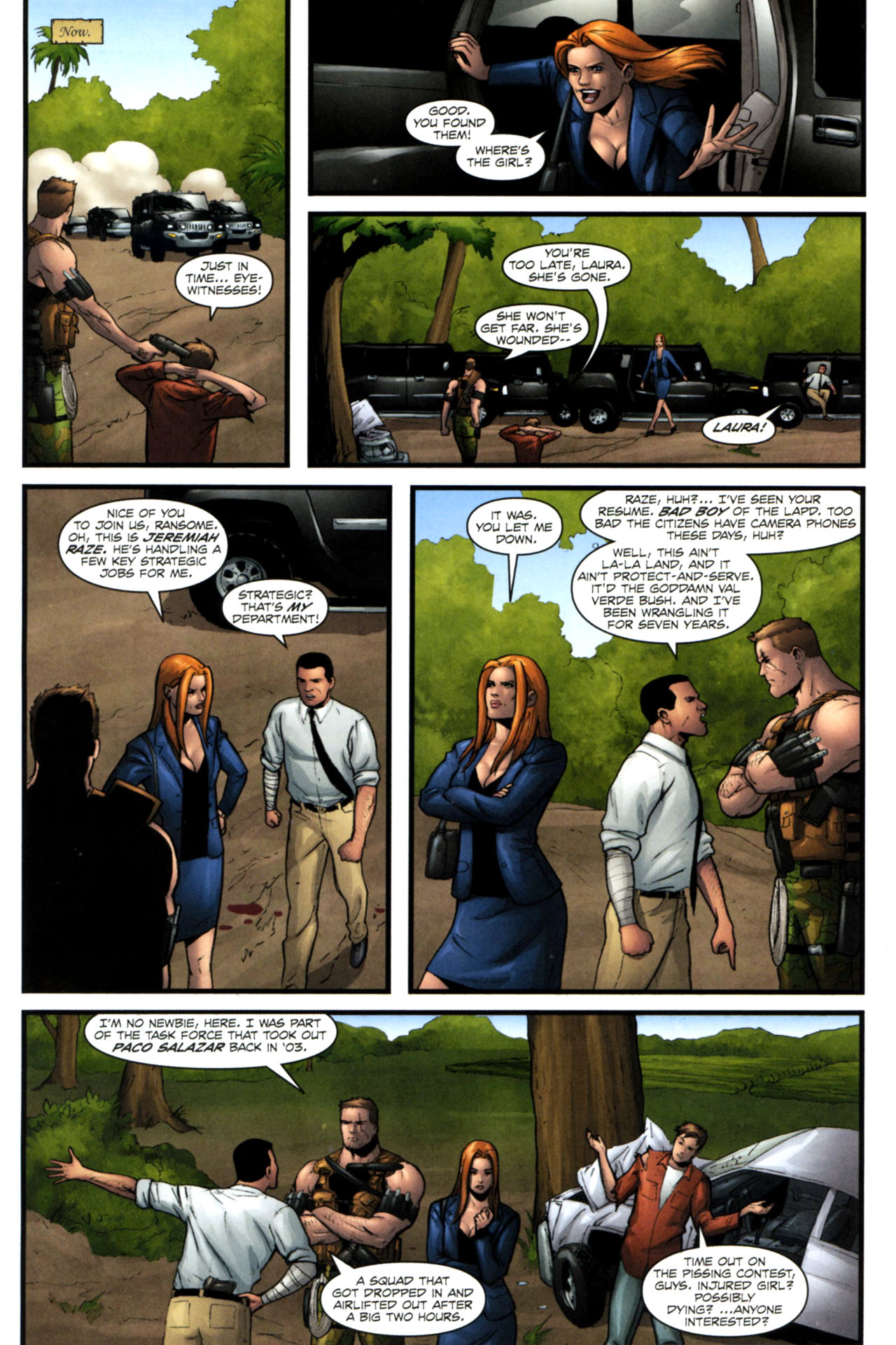 Read online Sheena, Queen of the Jungle comic -  Issue #4 - 8