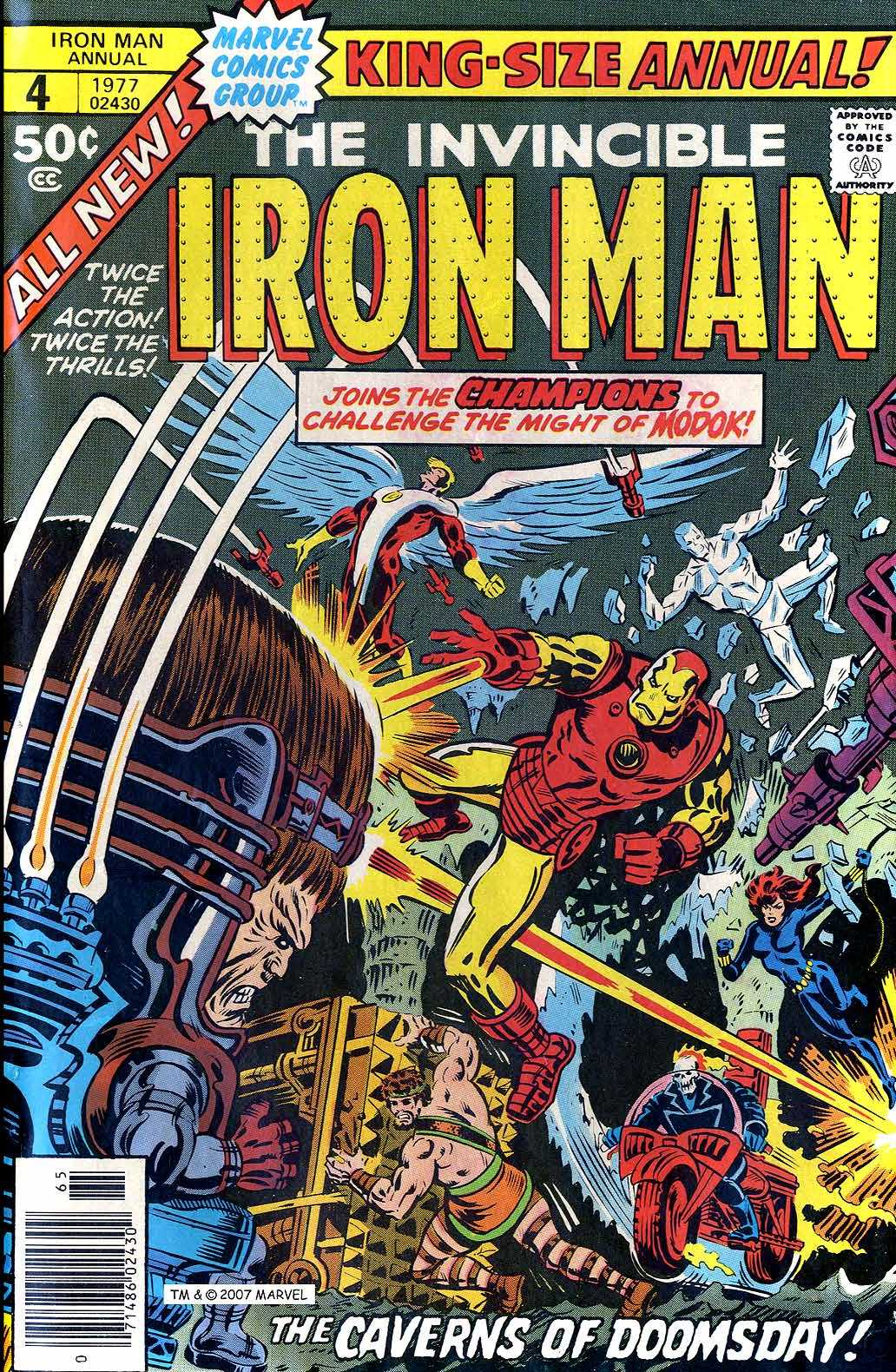 Iron Man Annual 4 Page 1