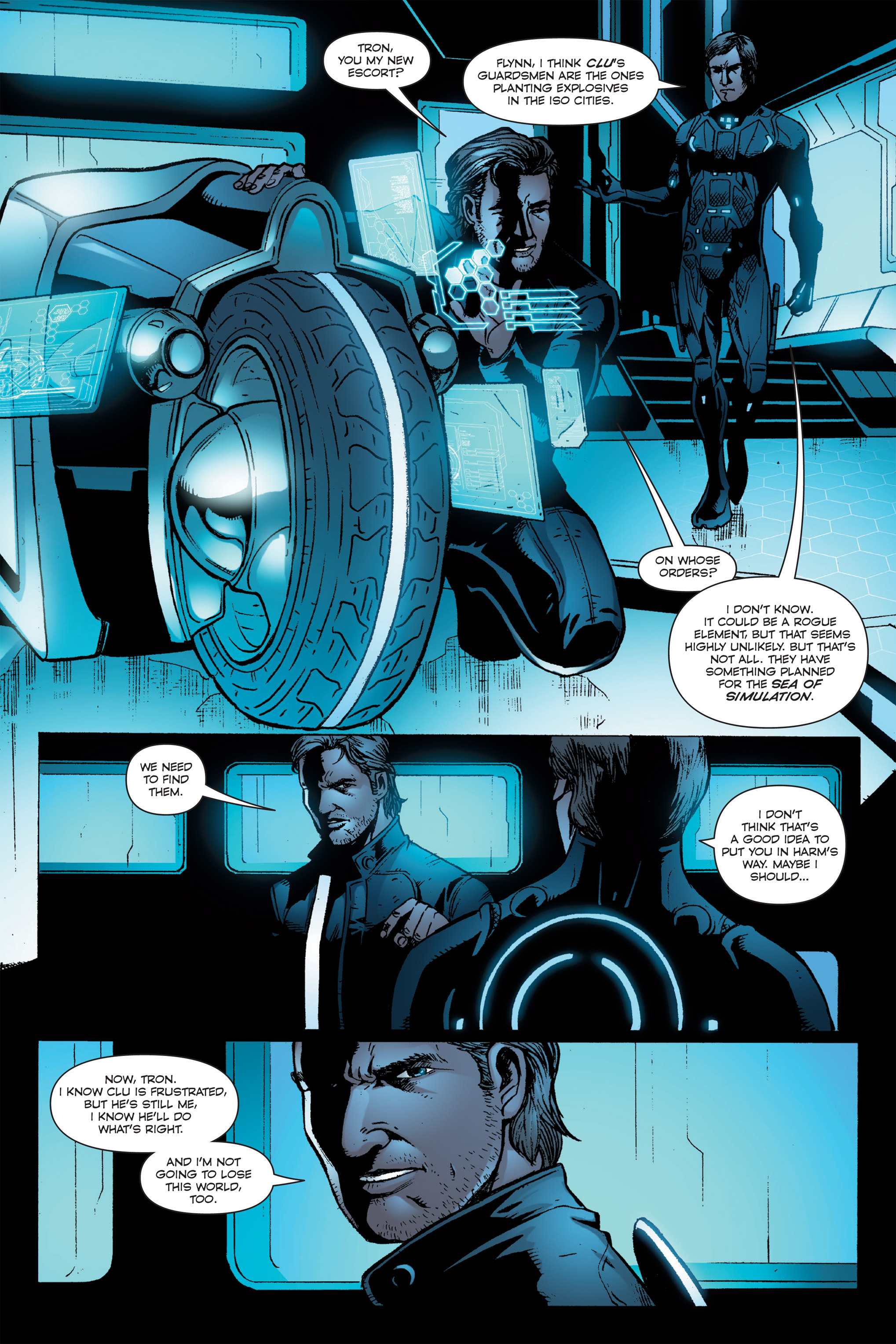 Read online TRON: Betrayal comic -  Issue # TPB - 97