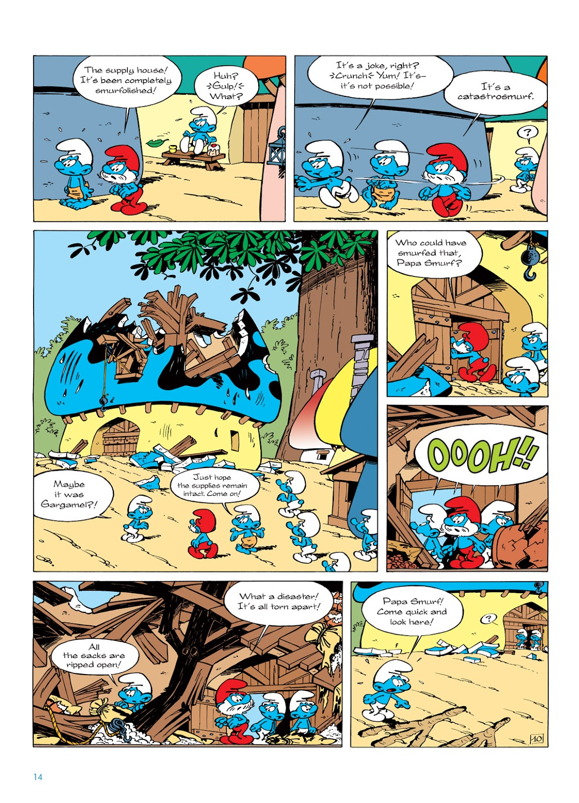 Read online The Smurfs comic -  Issue #6 - 14