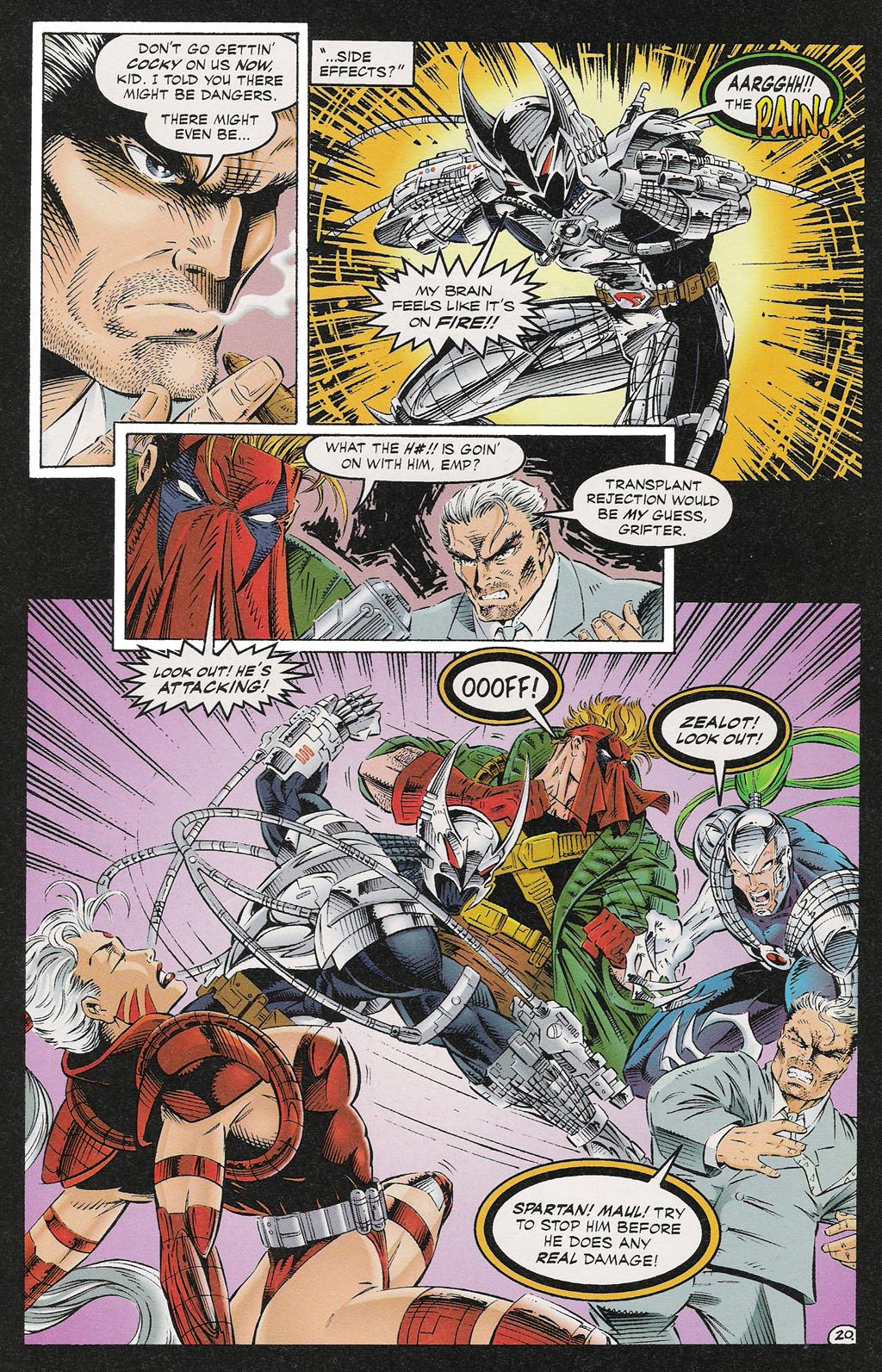 Read online ShadowHawk comic -  Issue #13 - 17
