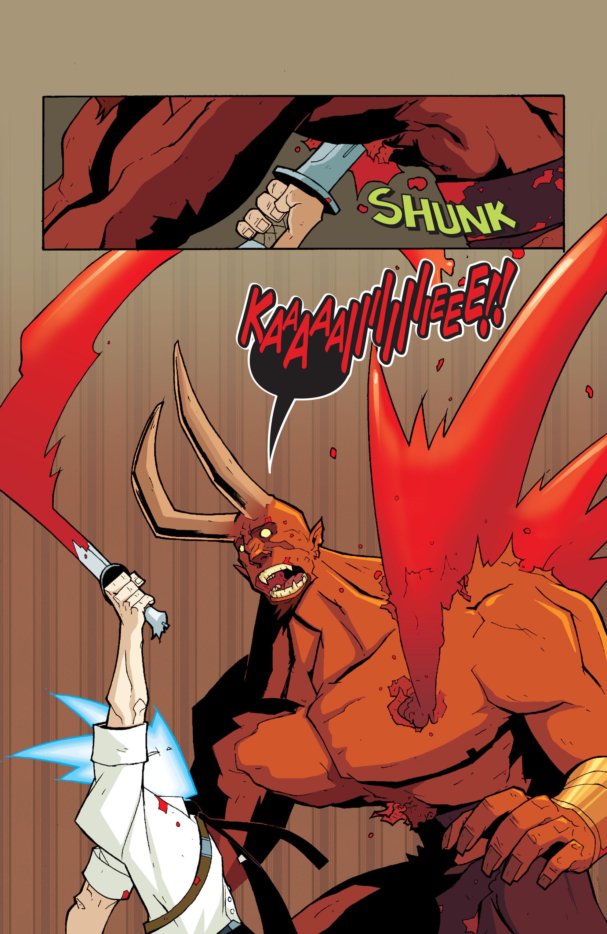 Read online Killer Of Demons comic -  Issue #3 - 25