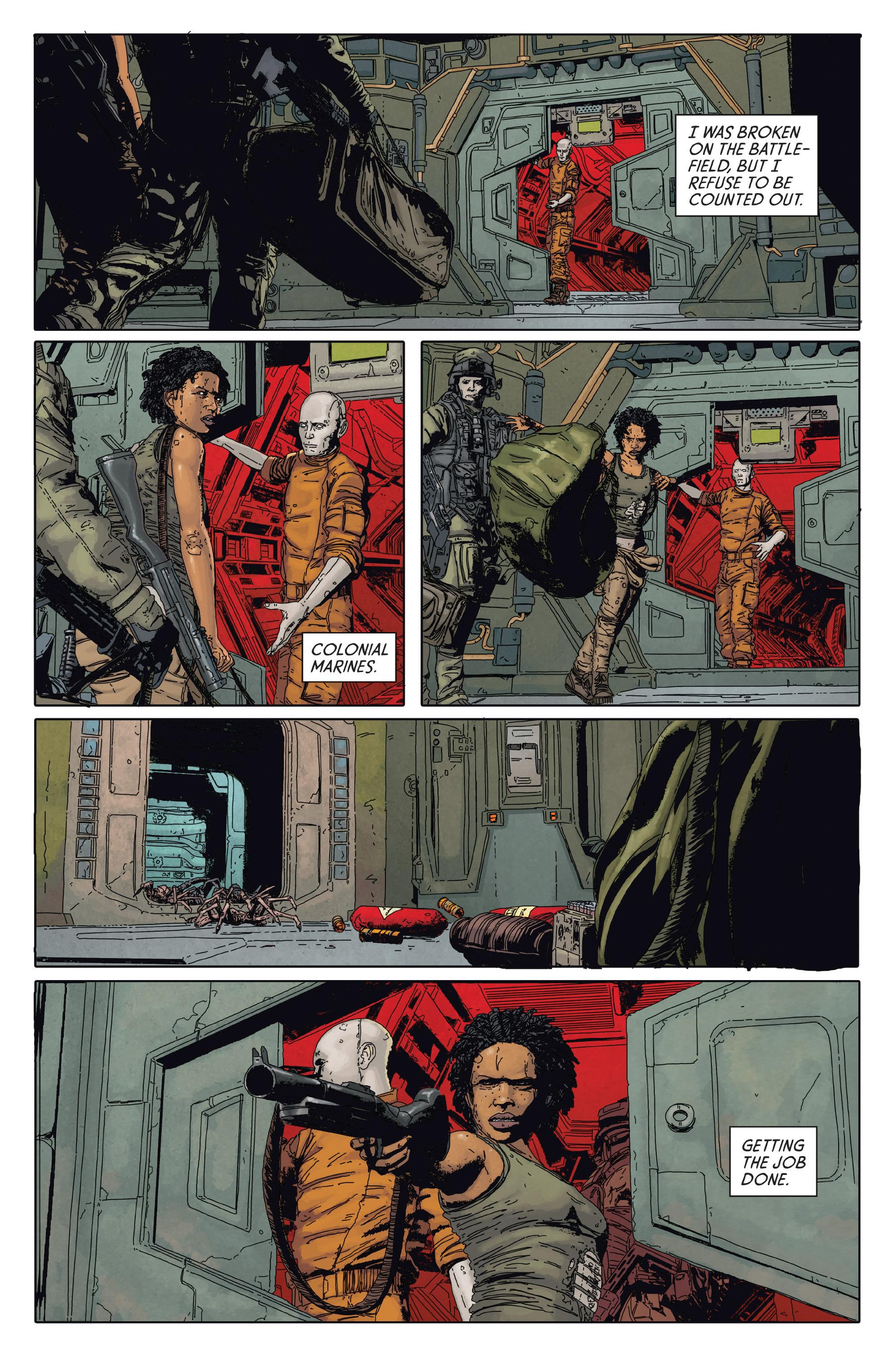 Read online Aliens: Defiance comic -  Issue #2 - 22
