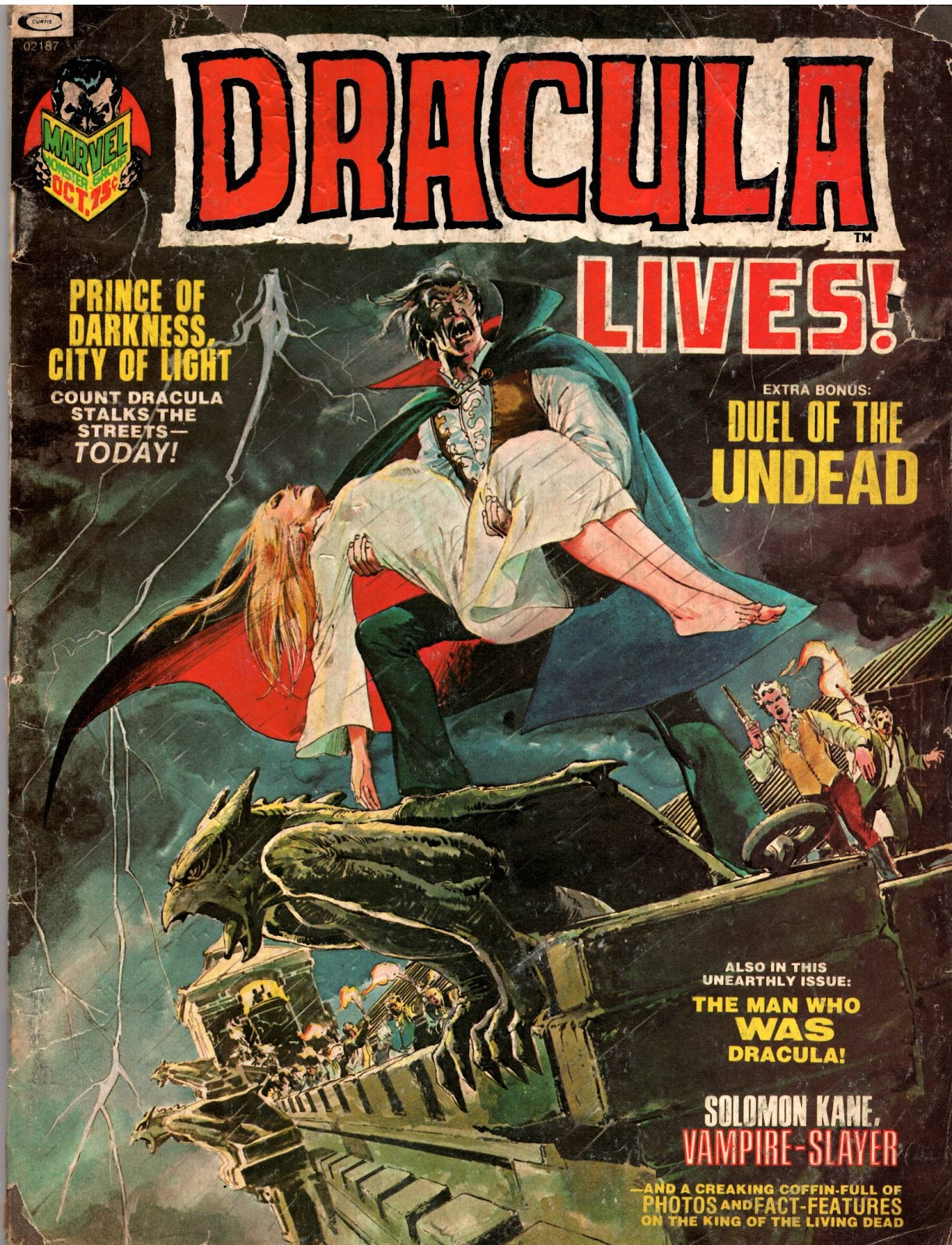 Dracula Lives issue 3 - Page 1