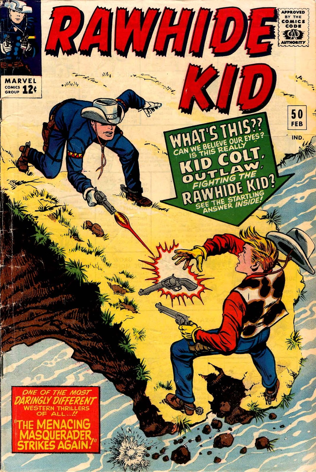 The Rawhide Kid (1955) issue 50 - Page 1