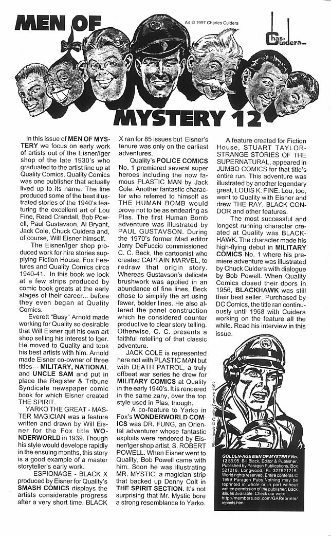 Read online Golden-Age Men of Mystery comic -  Issue #12 - 2