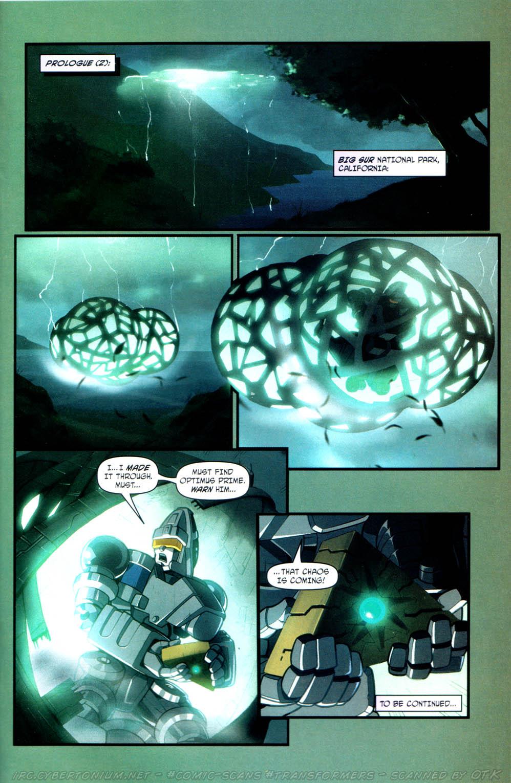 Read online Transformers Armada comic -  Issue #13 - 25