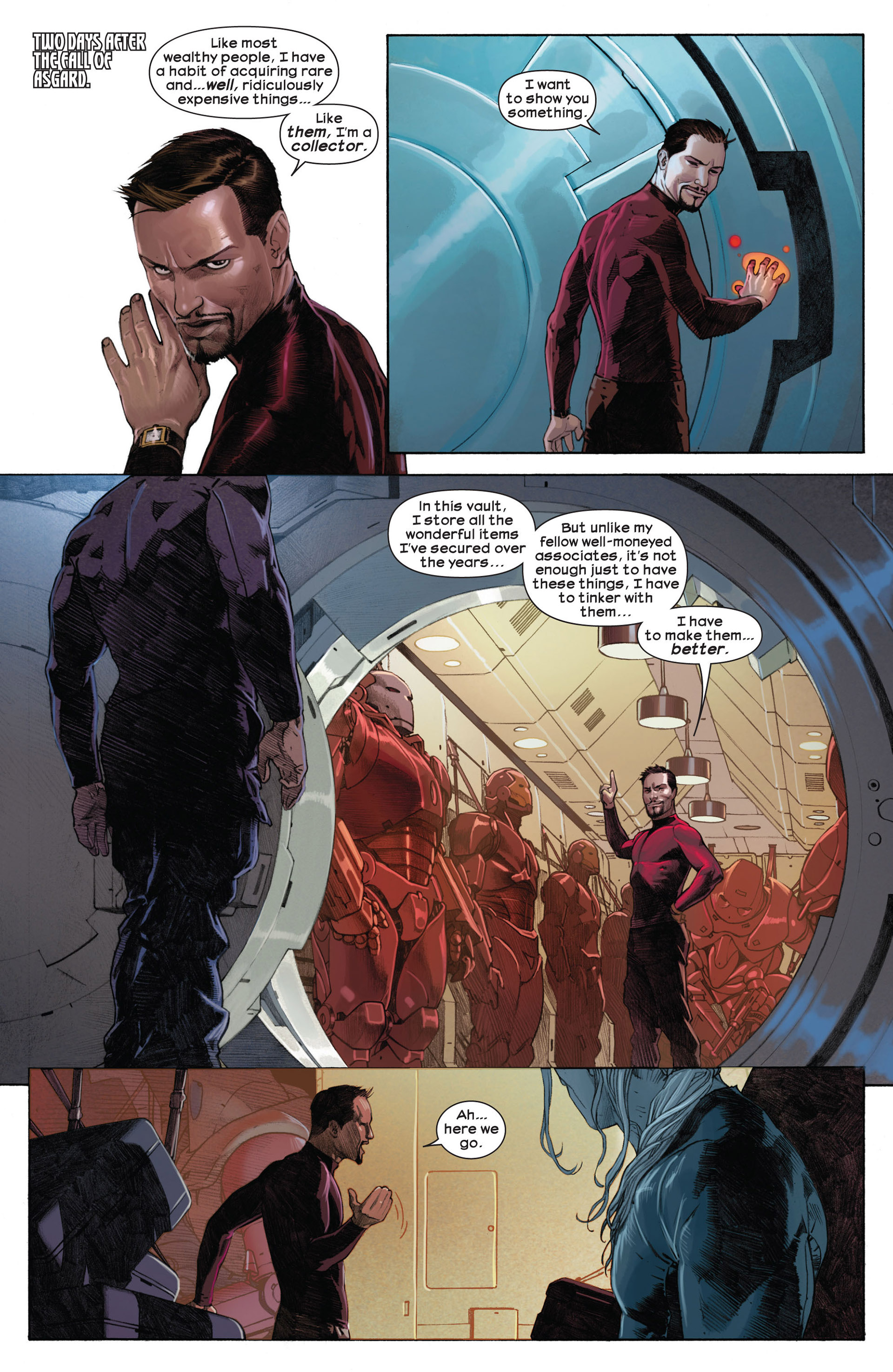Read online Ultimate Comics Ultimates comic -  Issue #3 - 3