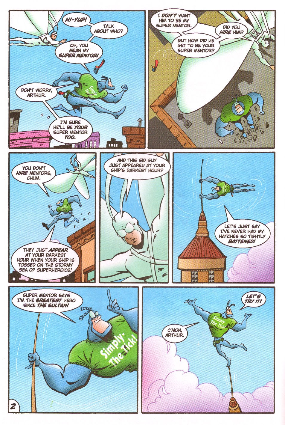 Read online The Tick: Days of Drama comic -  Issue #5 - 4