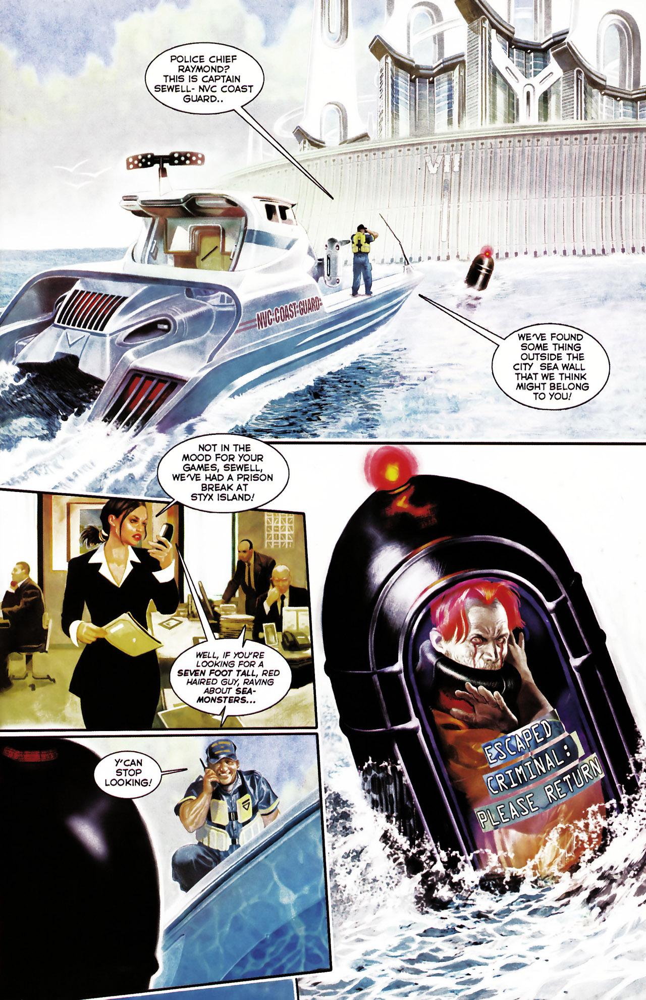 Read online Shark-Man comic -  Issue #1 - 7
