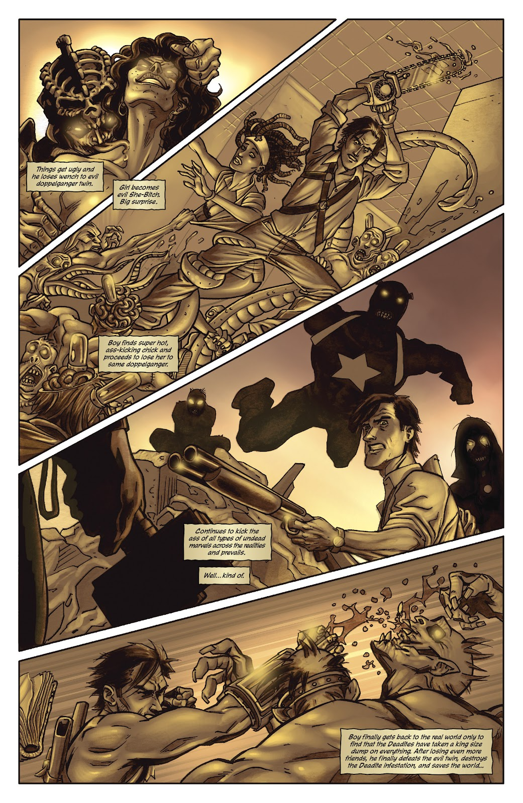 Army of Darkness: The Long Road Home issue TPB - Page 9