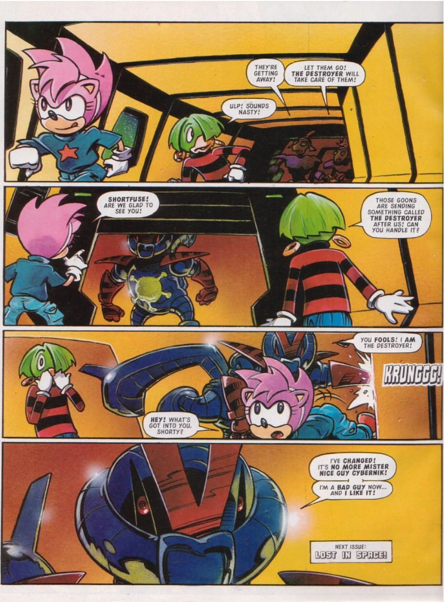 Read online Sonic the Comic comic -  Issue #111 - 26