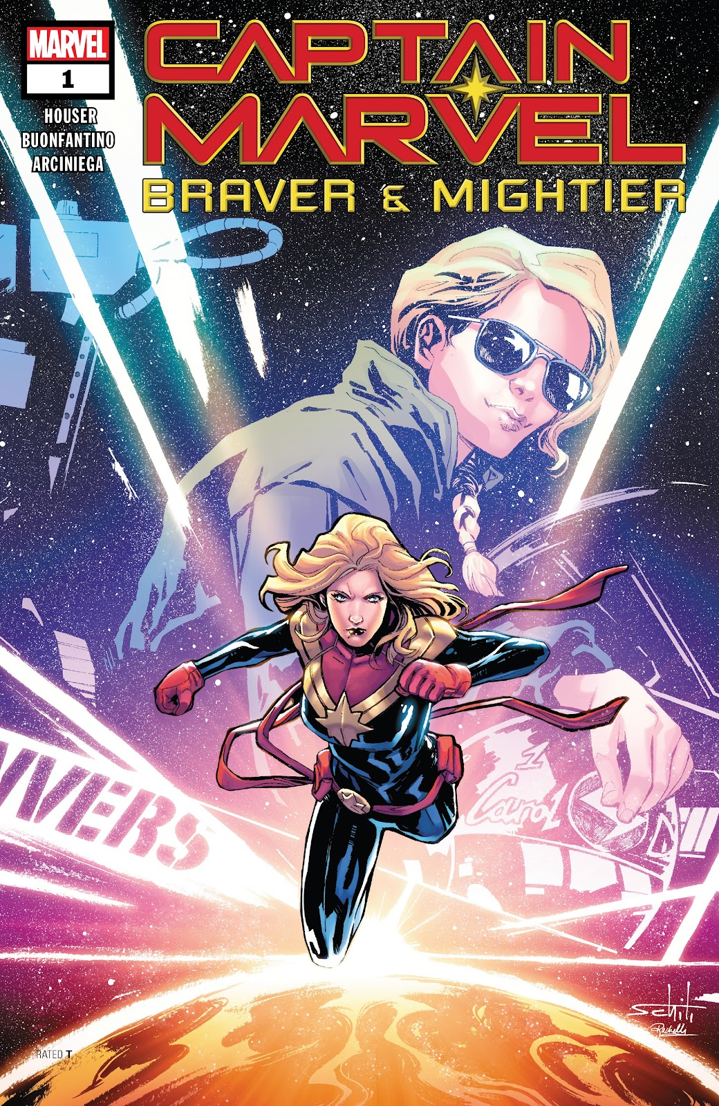 Read online Captain Marvel: Braver & Mightier comic -  Issue #1 - 1