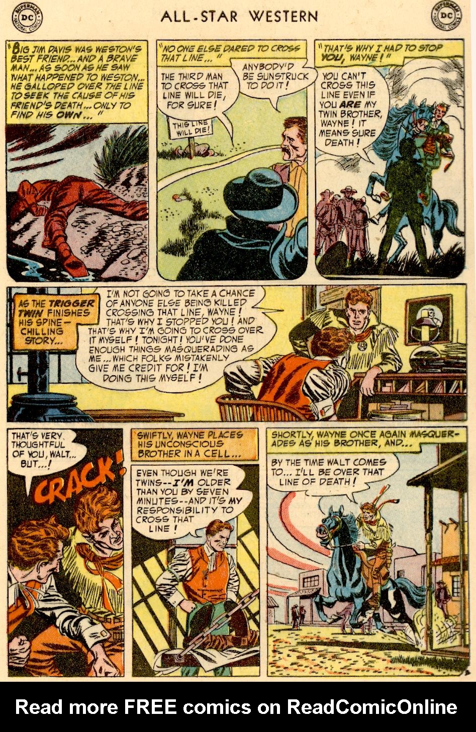 Read online All-Star Western (1951) comic -  Issue #73 - 5