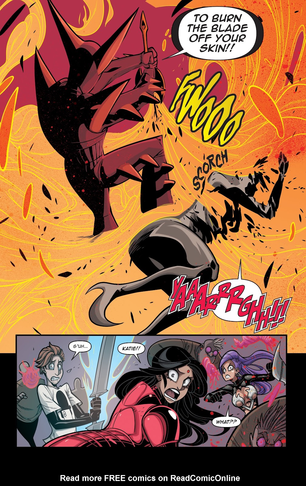 Read online Vampblade Season 3 comic -  Issue #12 - 16