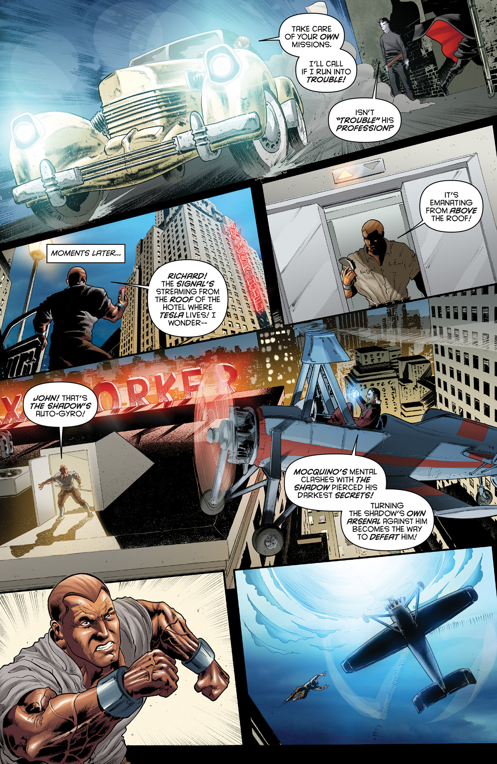 Read online Justice, Inc. comic -  Issue #4 - 20
