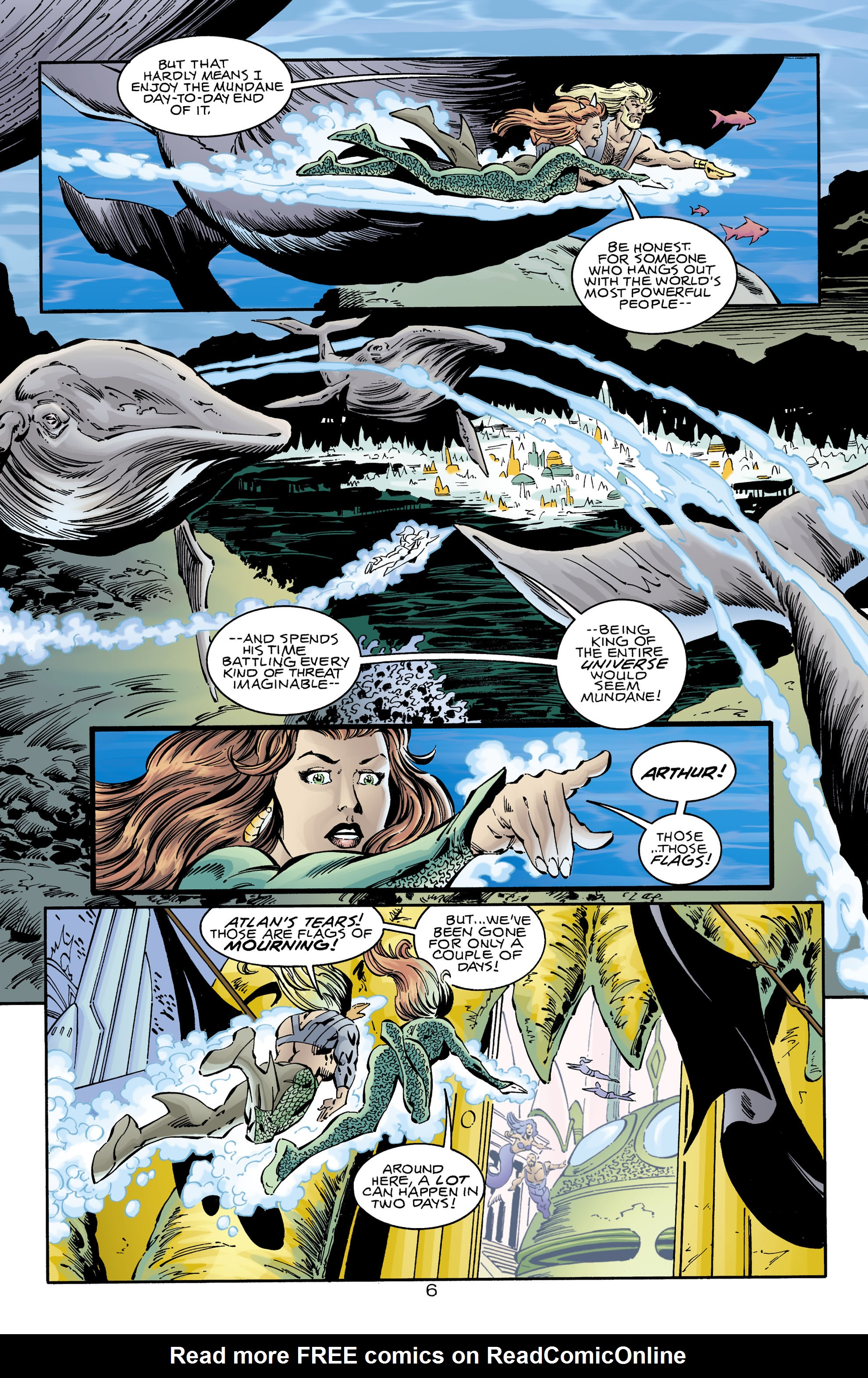 Read online Aquaman (1994) comic -  Issue #74 - 6