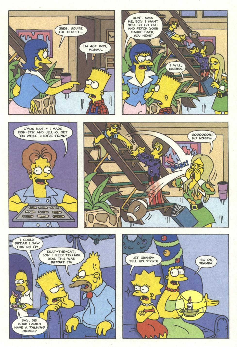 Read online Simpsons Comics comic -  Issue #15 - 10