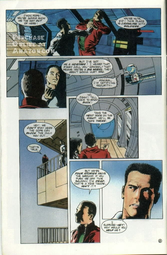 Read online Quantum Leap comic -  Issue #8 - 9