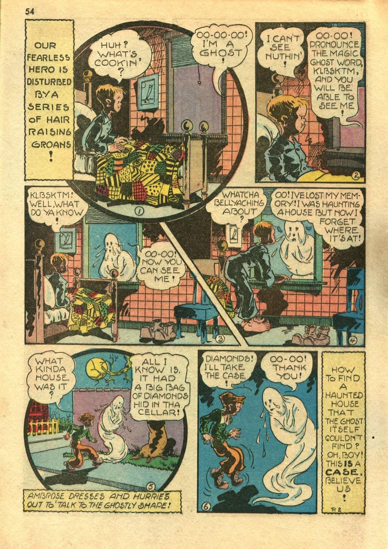 Read online Super-Magician Comics comic -  Issue #14 - 53