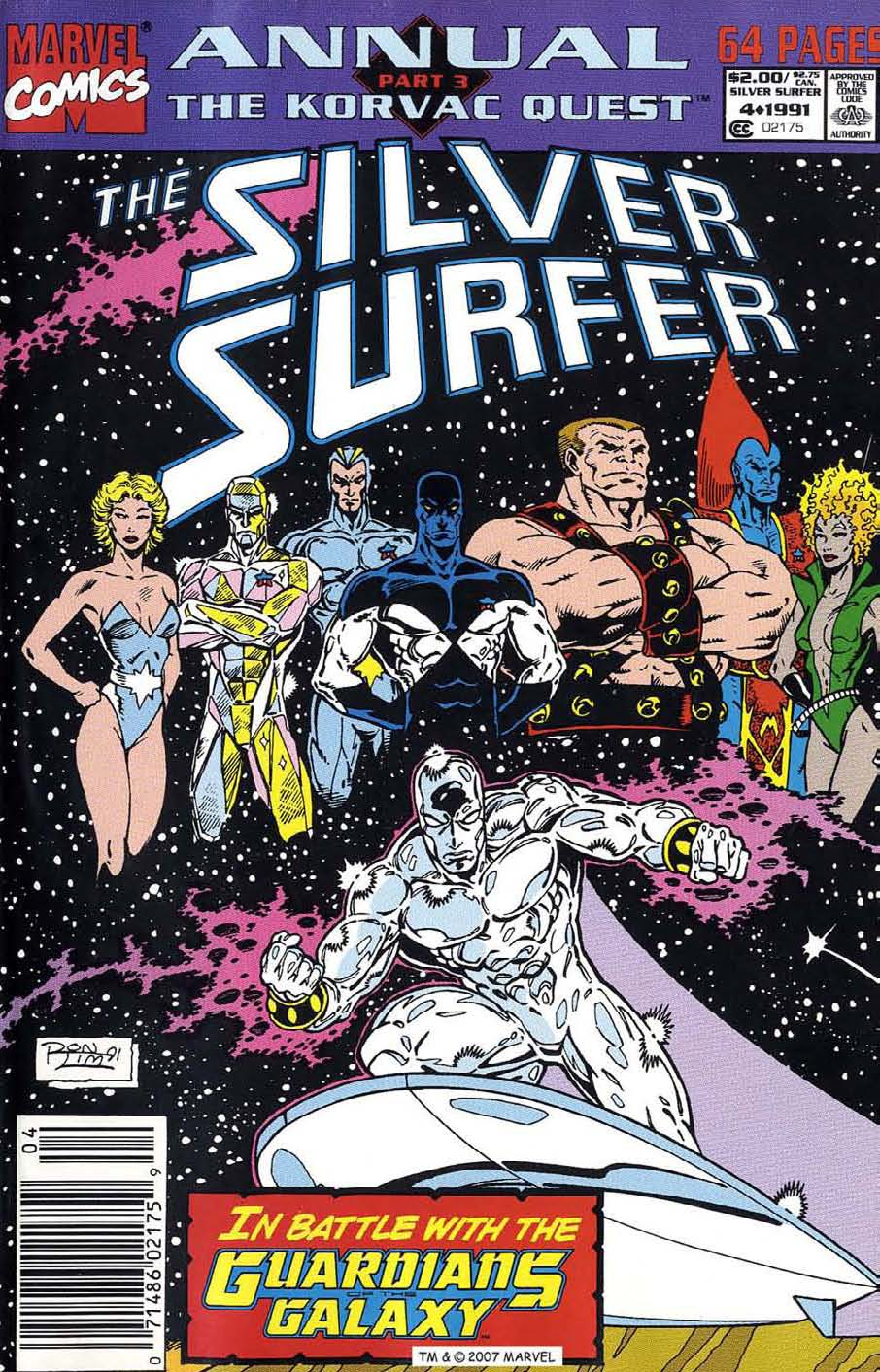Read online Silver Surfer (1987) comic -  Issue # _Annual 4 - 1