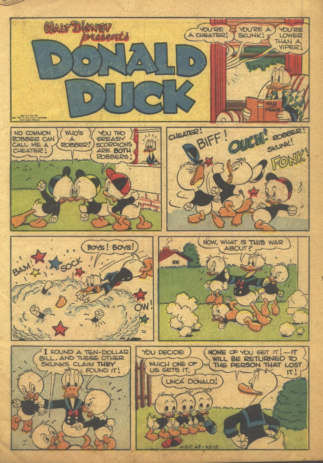 Walt Disney's Comics and Stories issue 63 - Page 3