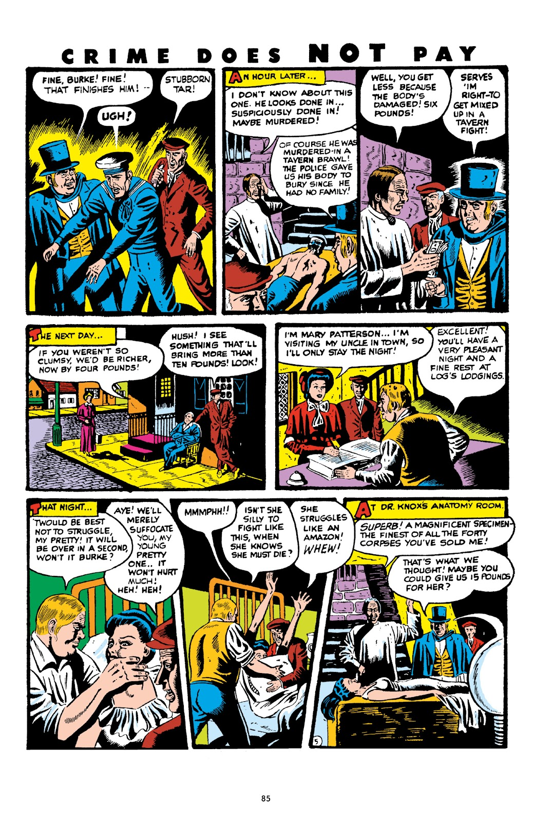Read online Crime Does Not Pay Archives comic -  Issue # TPB 6 (Part 1) - 87