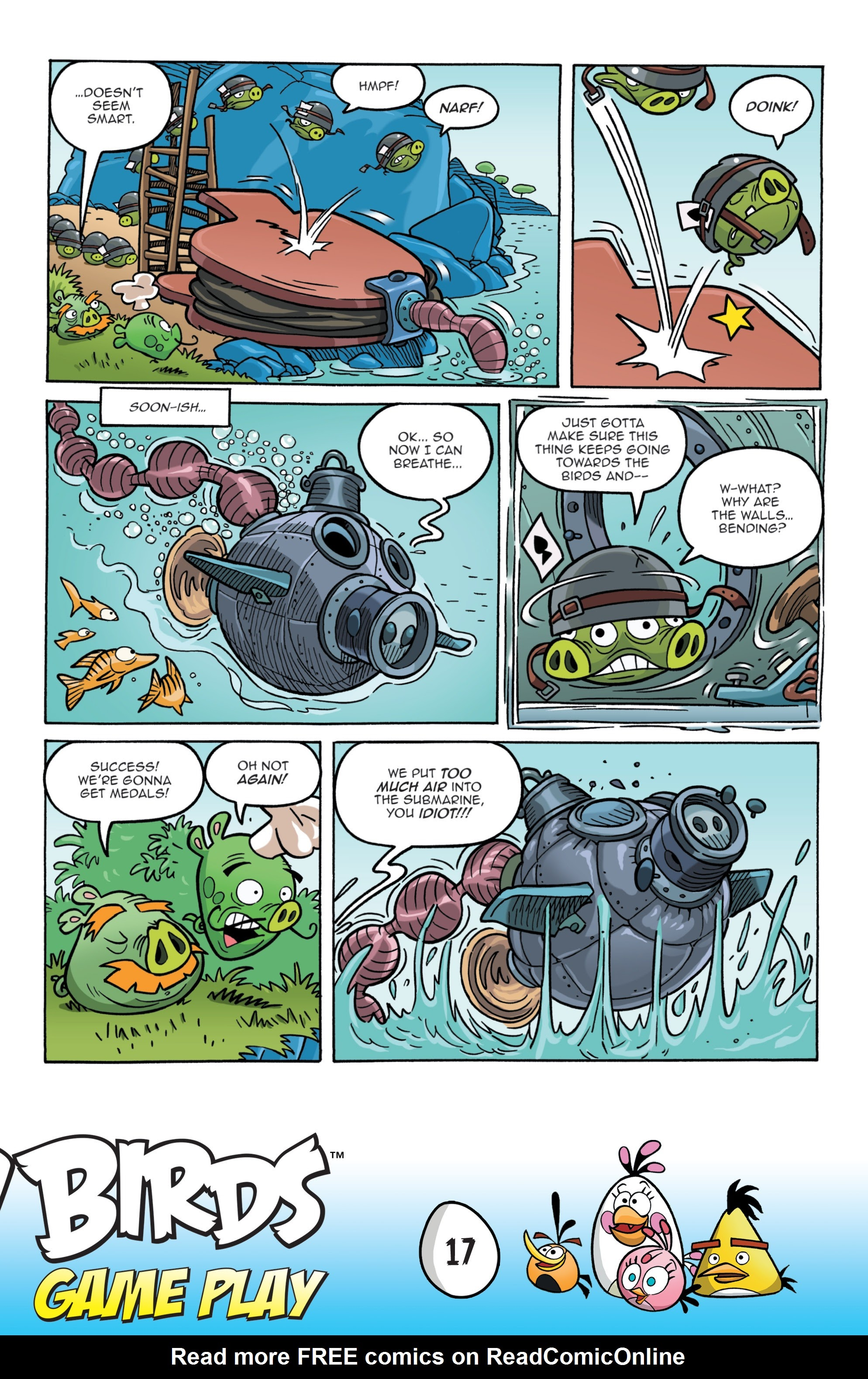 Read online Angry Birds Comics: Game Play comic -  Issue #1 - 19