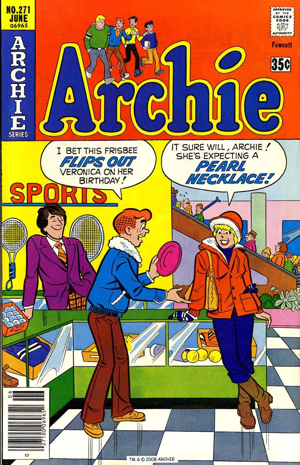 Read online Archie (1960) comic -  Issue #271 - 1