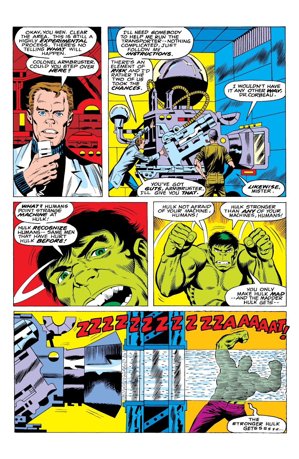 Read online Marvel Masterworks: The Incredible Hulk comic -  Issue # TPB 10 (Part 1) - 34