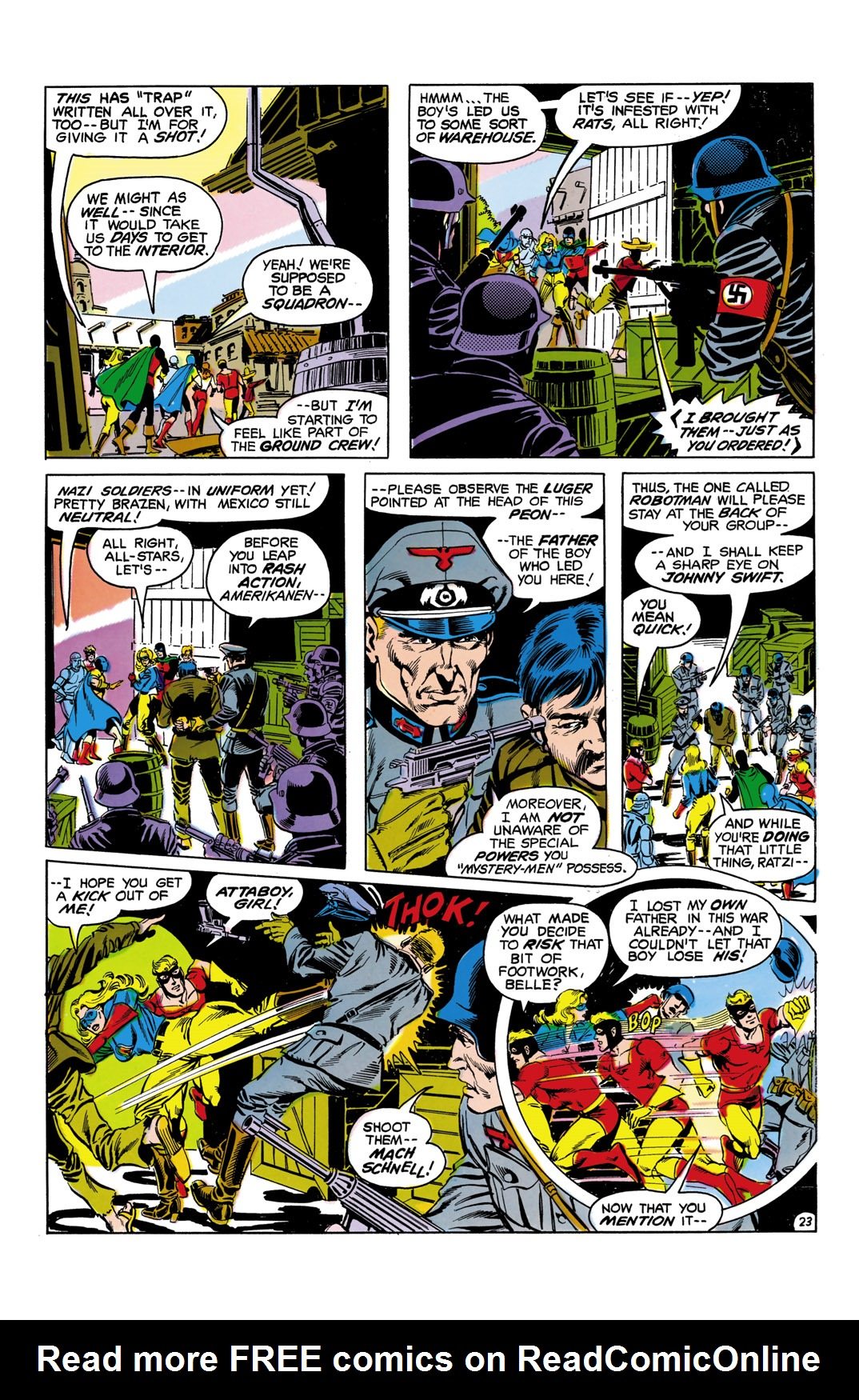 Read online All-Star Squadron comic -  Issue #5 - 24