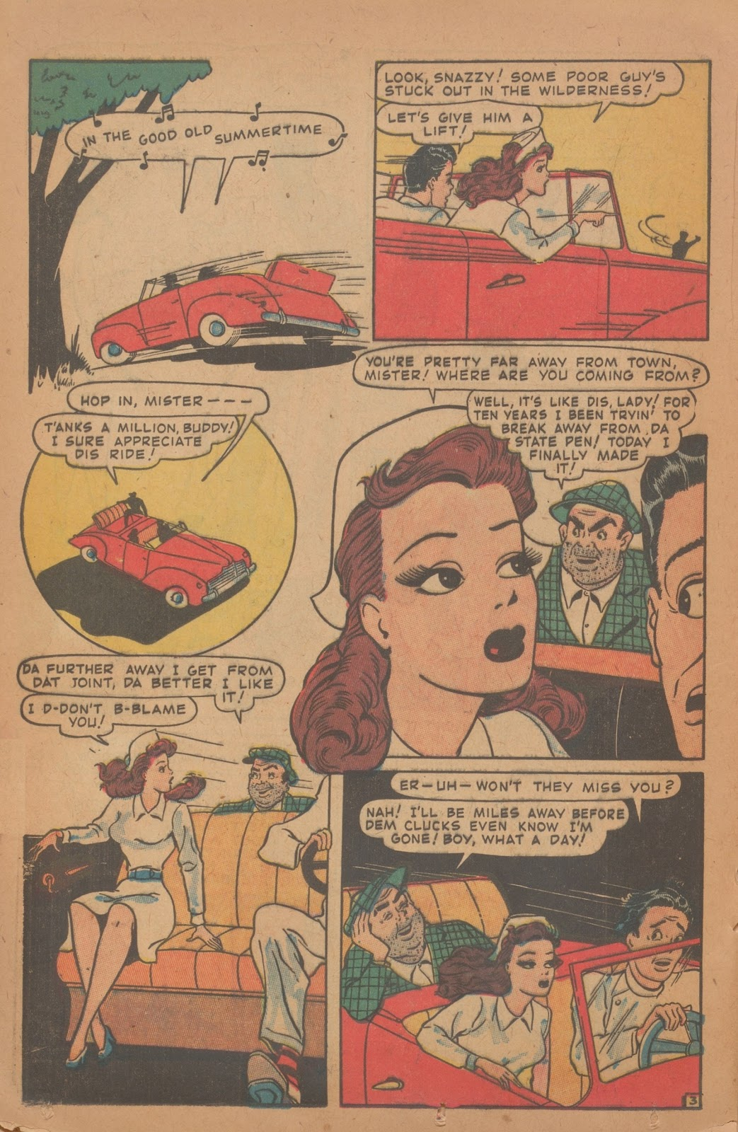 Read online Nellie The Nurse (1945) comic -  Issue #9 - 28