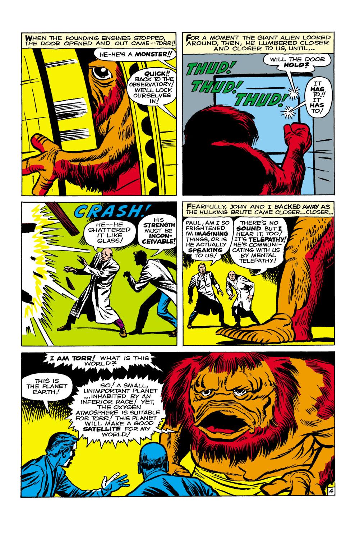 Read online Amazing Adventures (1961) comic -  Issue #1 - 5