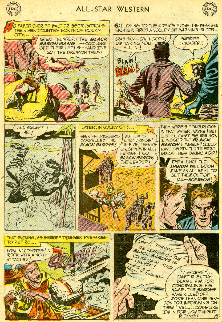 Read online All-Star Western (1951) comic -  Issue #68 - 4