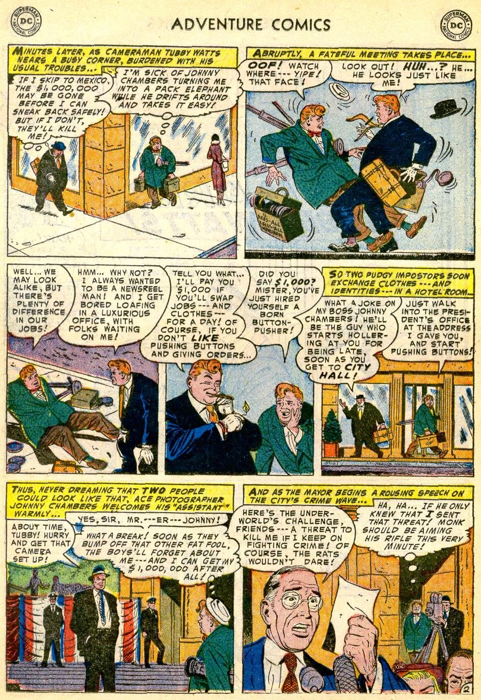 Read online Adventure Comics (1938) comic -  Issue #192 - 26